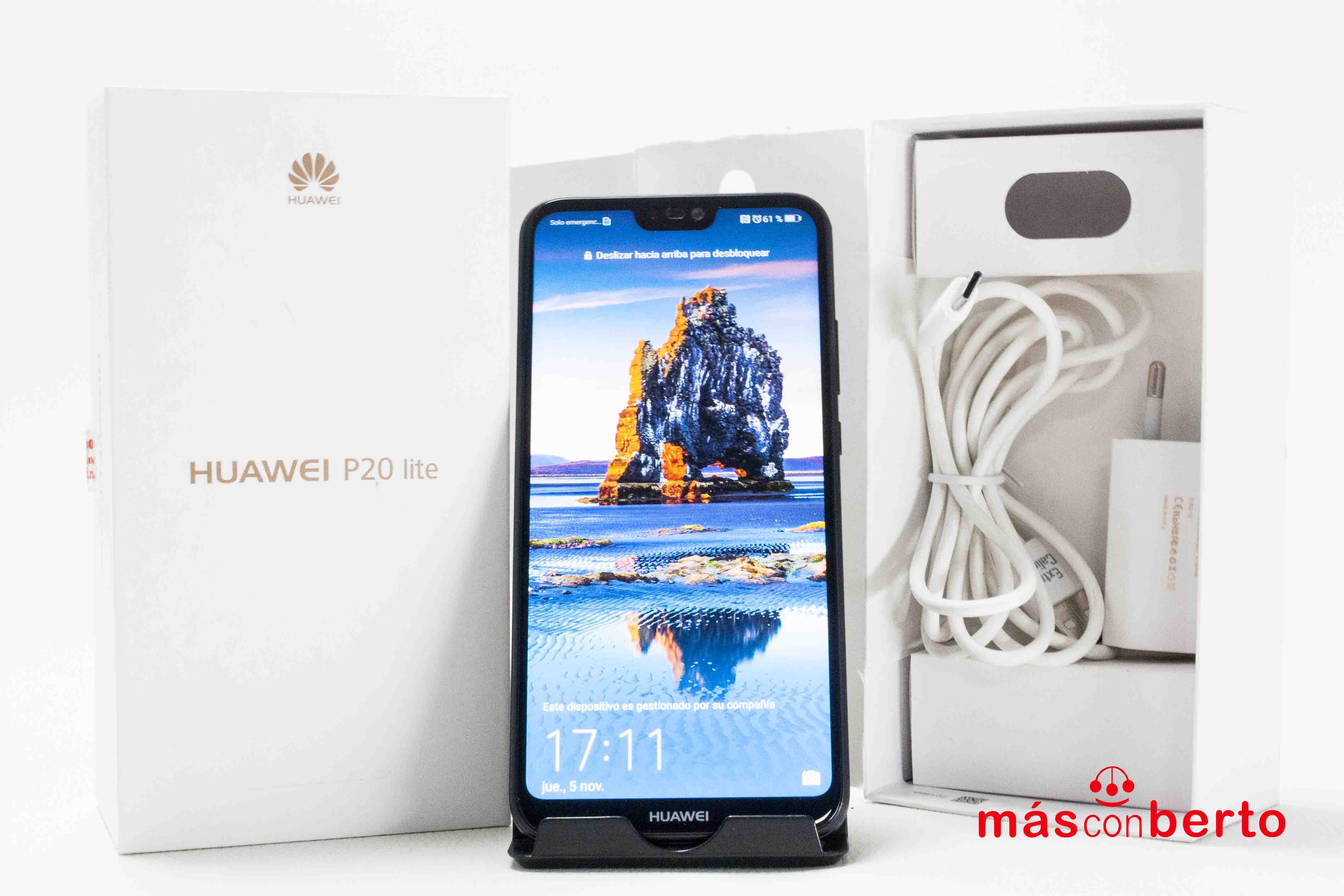 Móvil Huawei P20 Lite 64Gb...