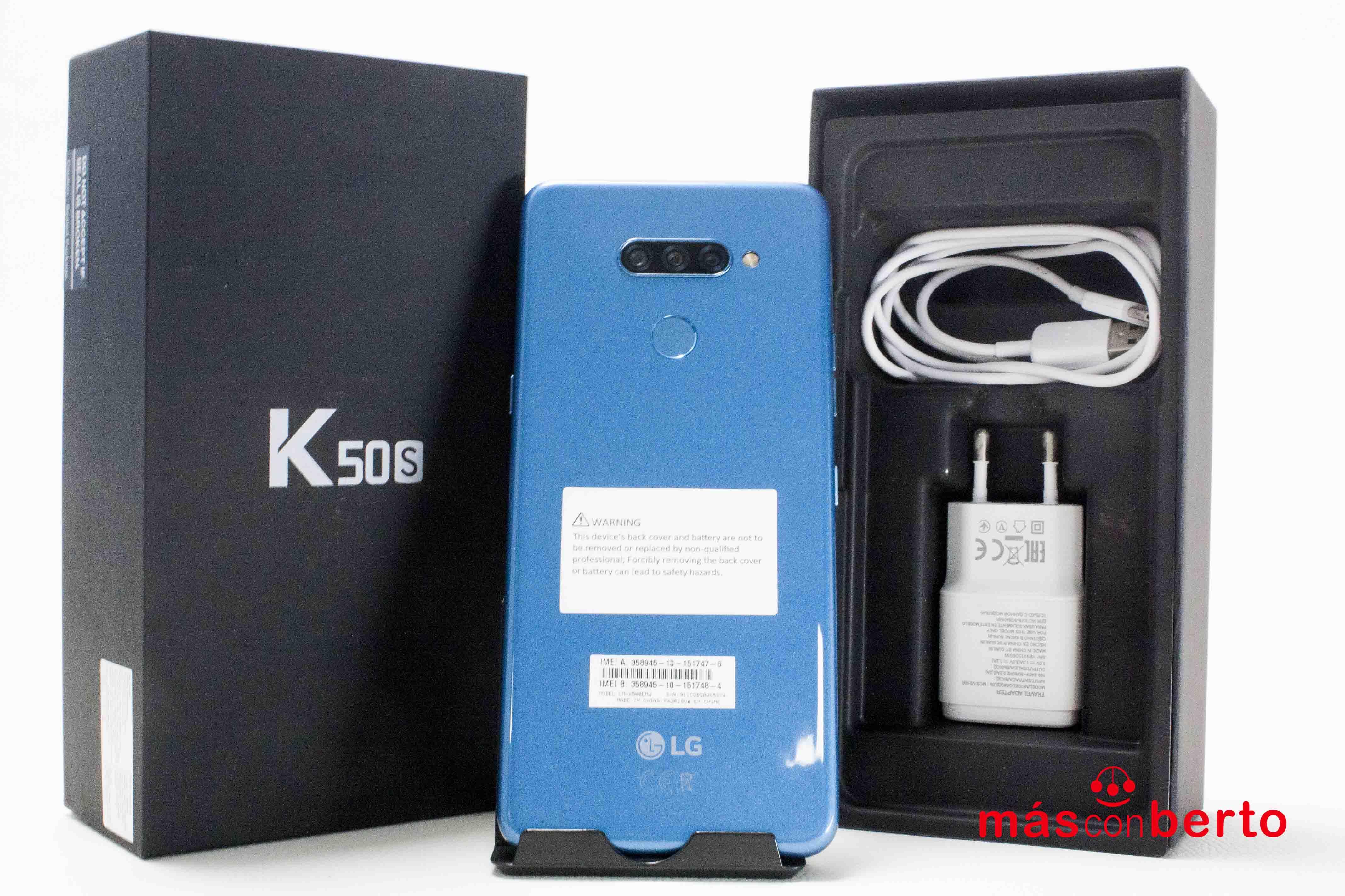 Móvil LG K50S 32GB Azul