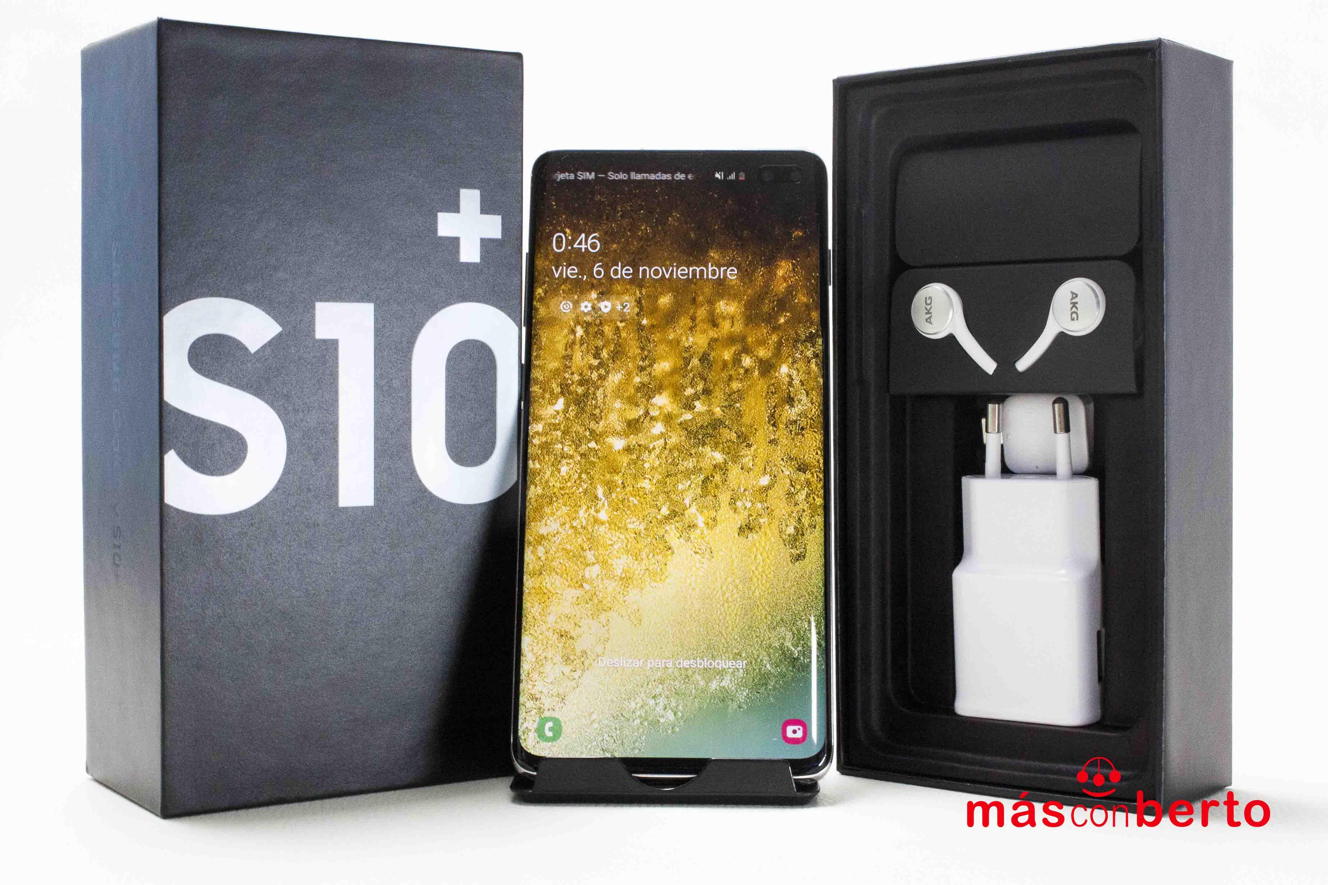 Móvil Samsung Galaxy S10+...