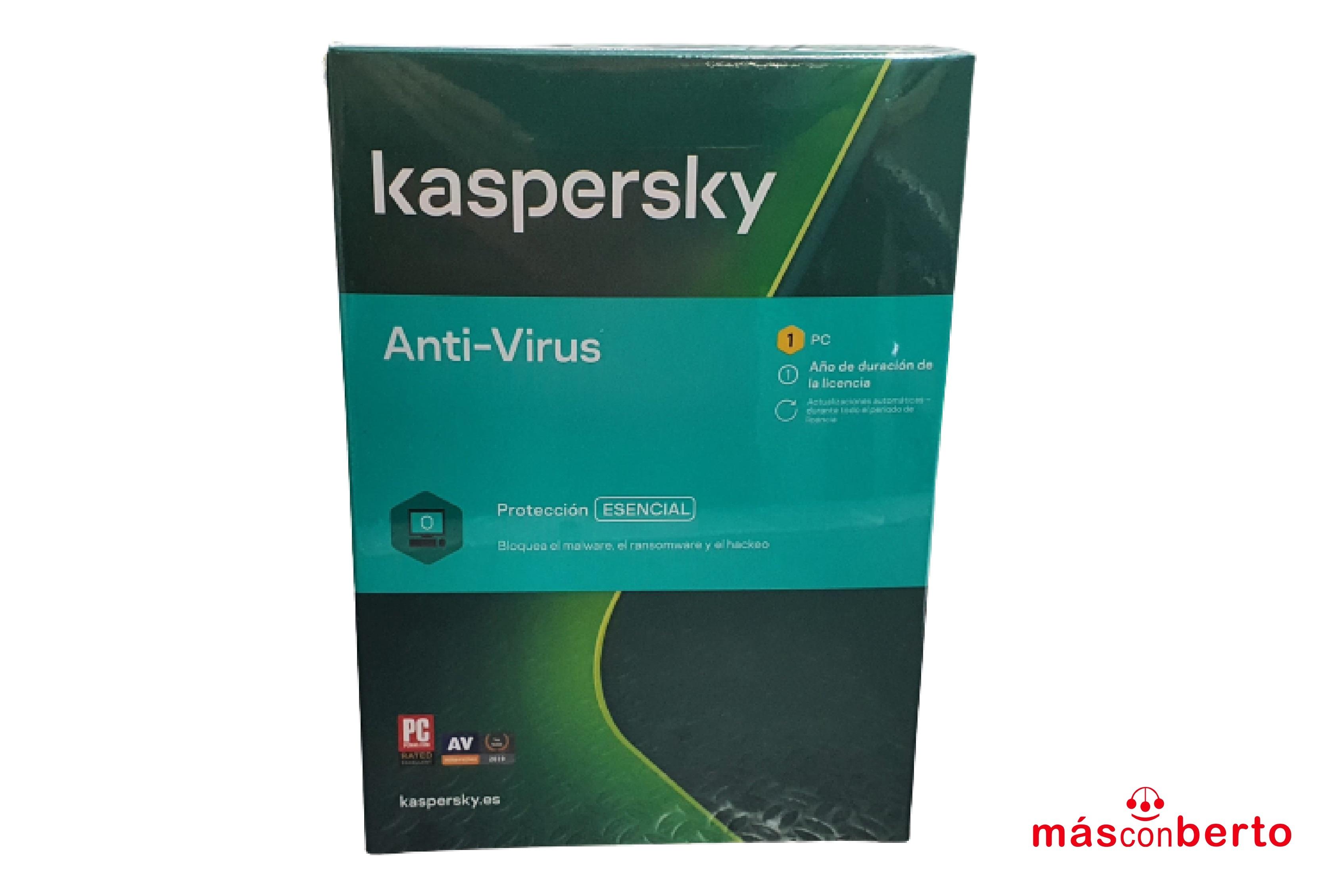 Antivirus Kasperky Kav 2020...