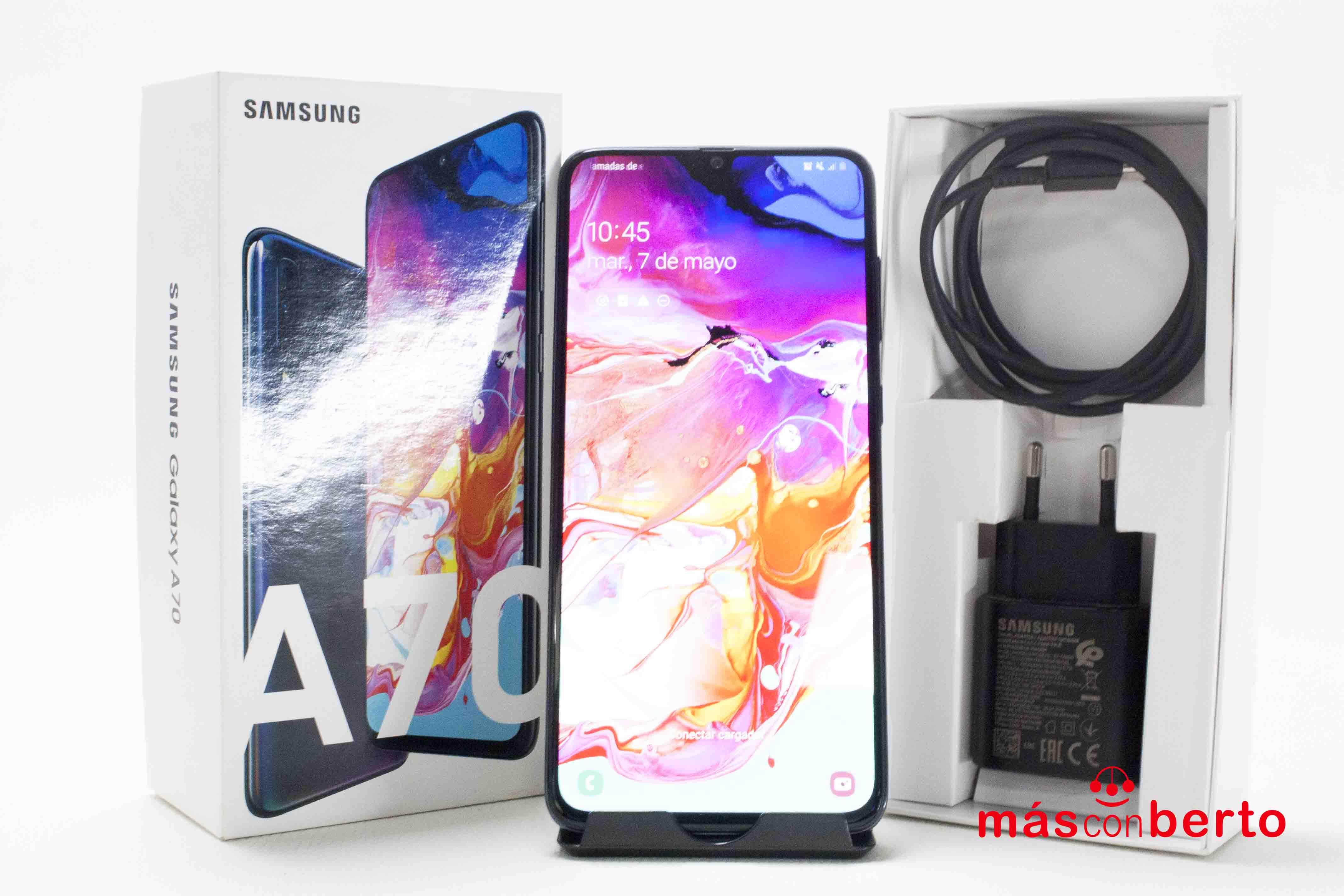 Móvil Samsung Galaxy A70...
