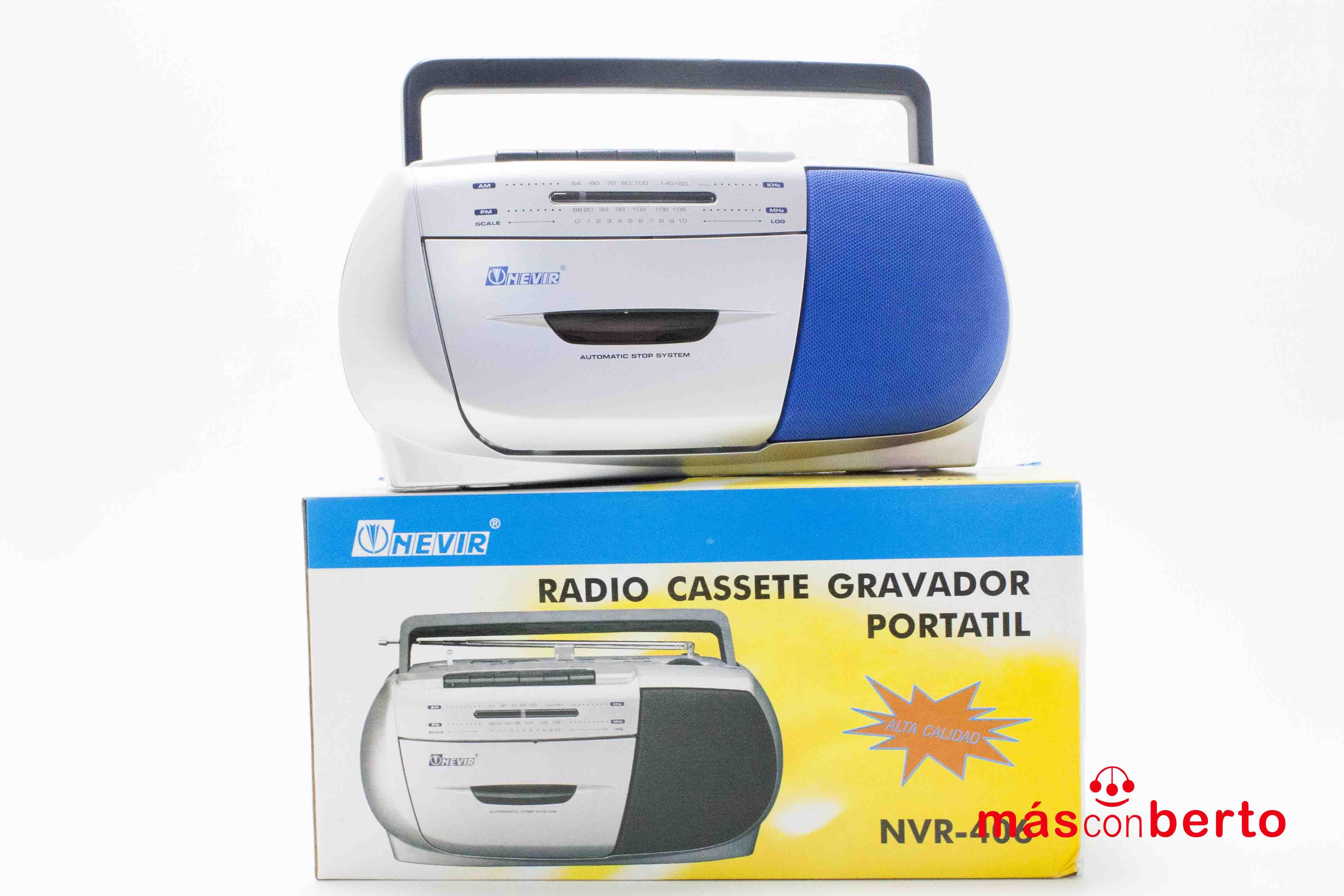 Radio casette Nevir NVR-406
