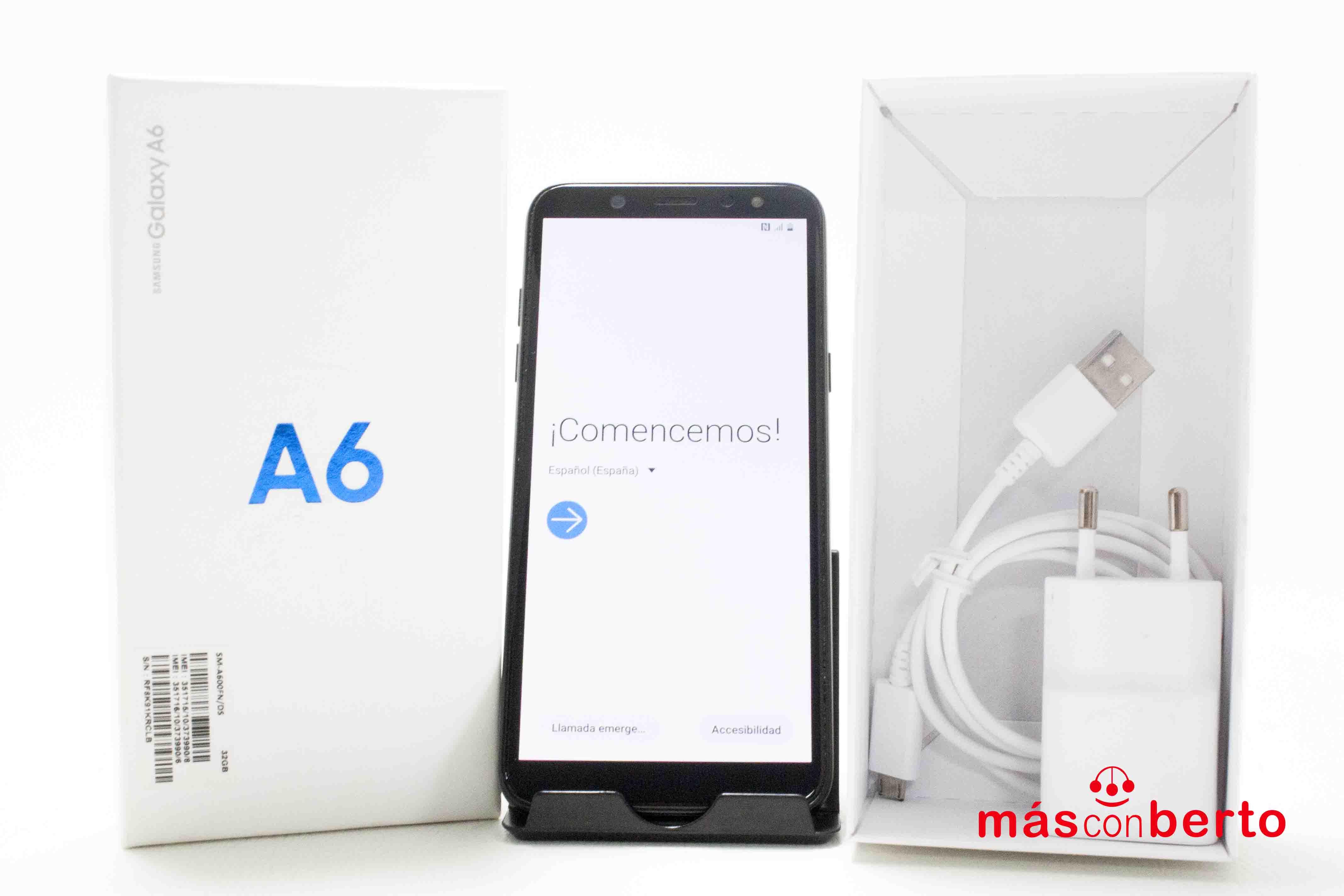 Móvil Samsung A6 32GB