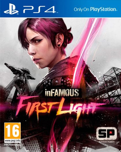 Juego PS4 inFAMOUS First Light