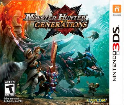 Juego 3DS monster hunter...