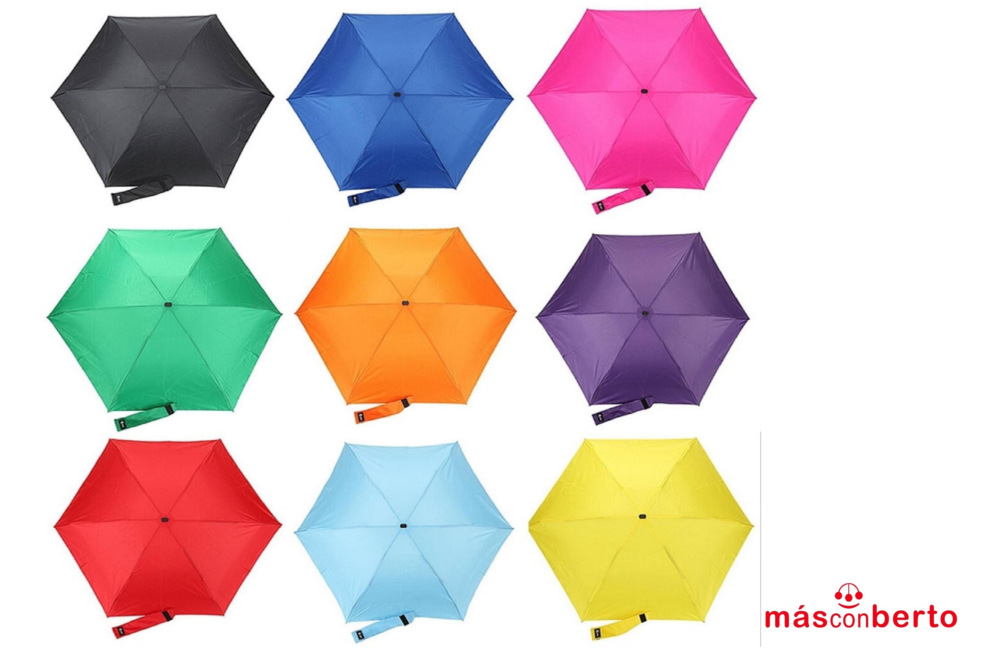 Paraguas manual pequeño...