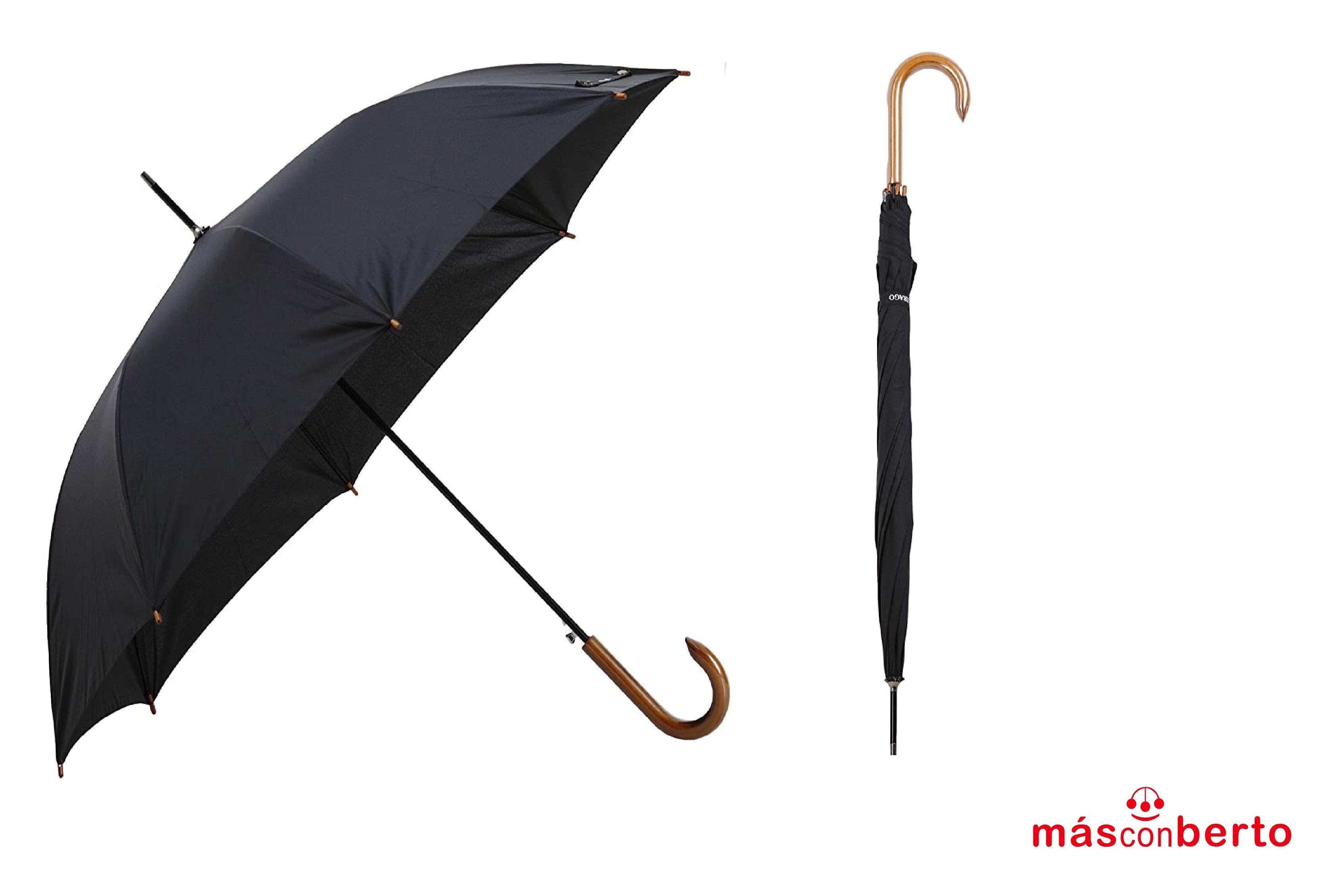 Paraguas adulto bastón...