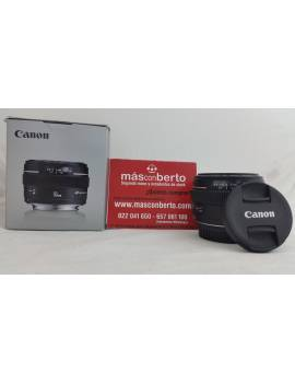 Objetivo Canon EF 50mm