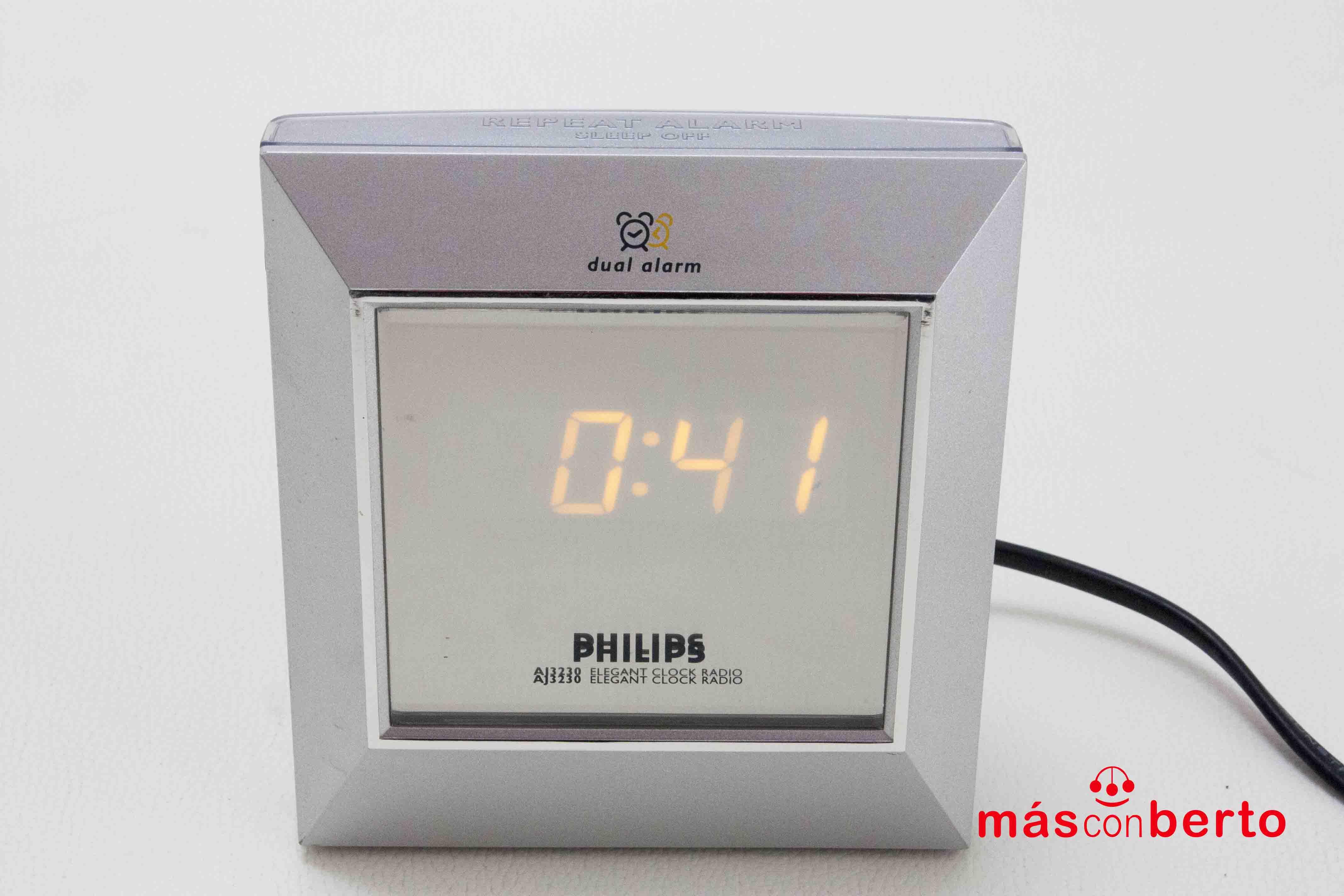 Radio reloj Philips AJ3230