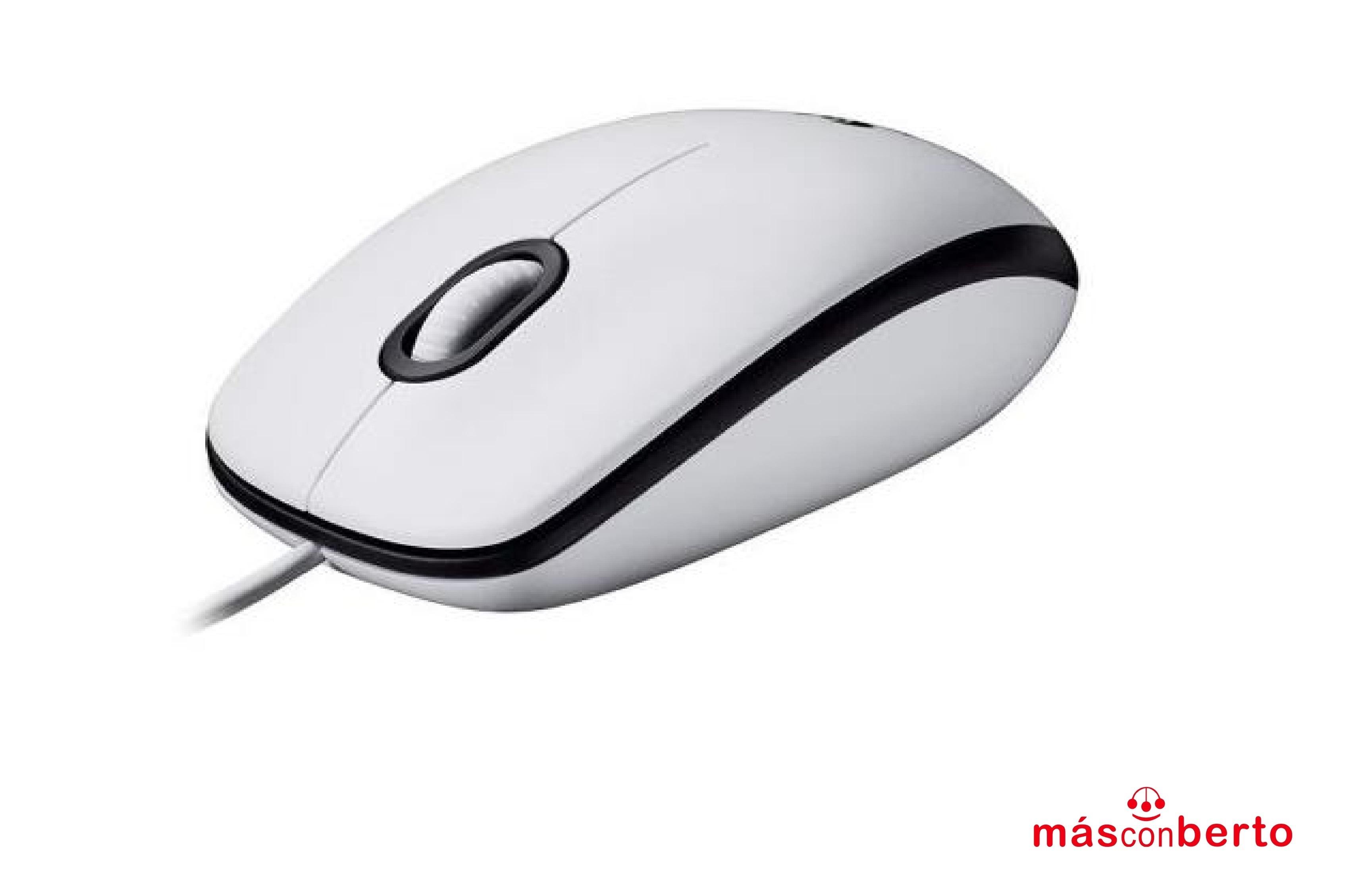 Ratón Logitech M100 Blanco