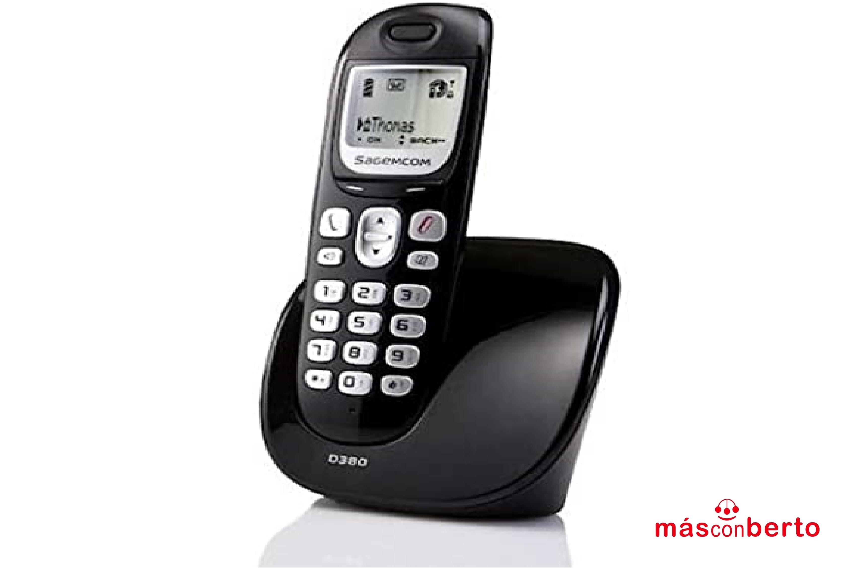 Teléfono Fijo Sagemcom D380...