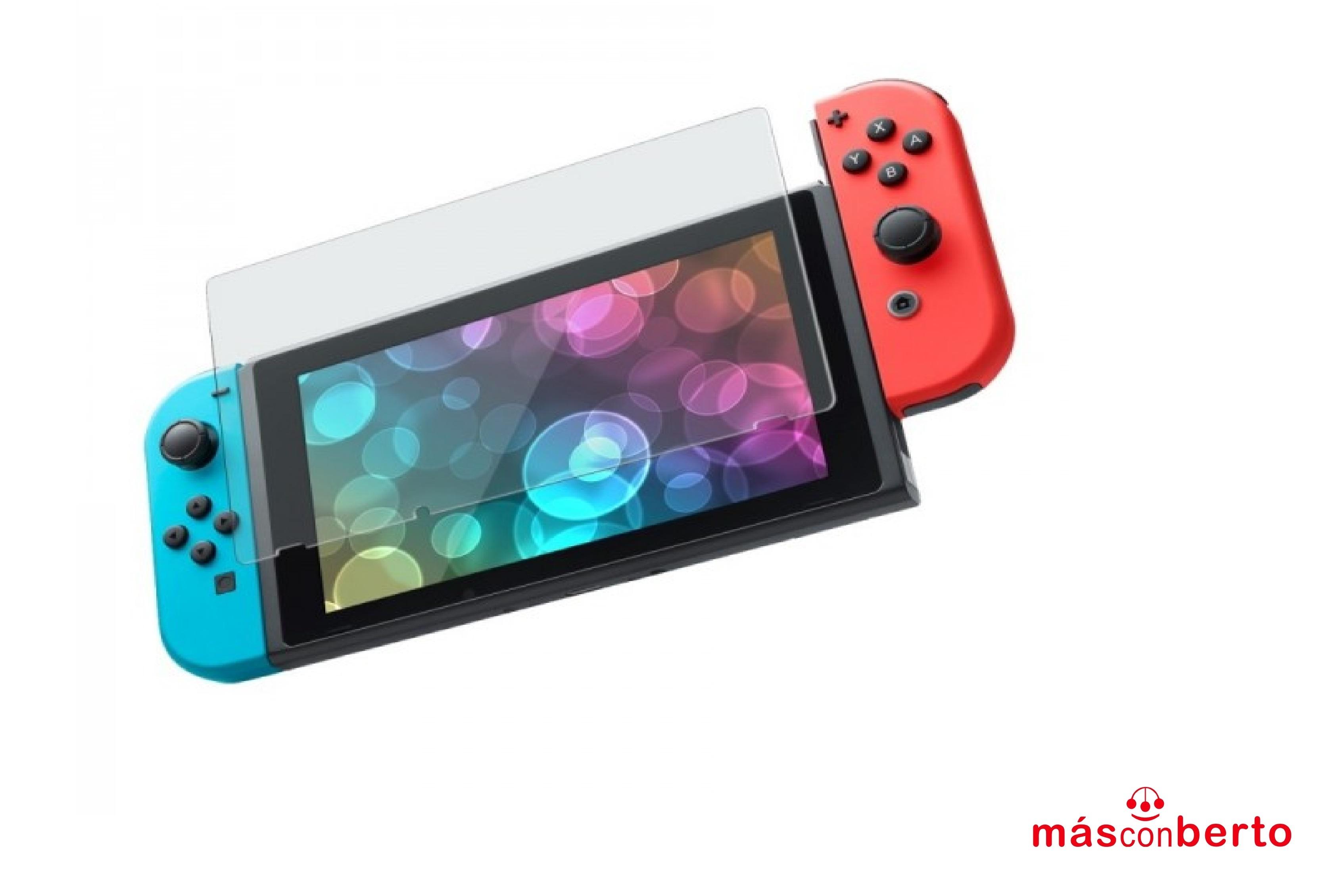 Cristal templado Nintendo...