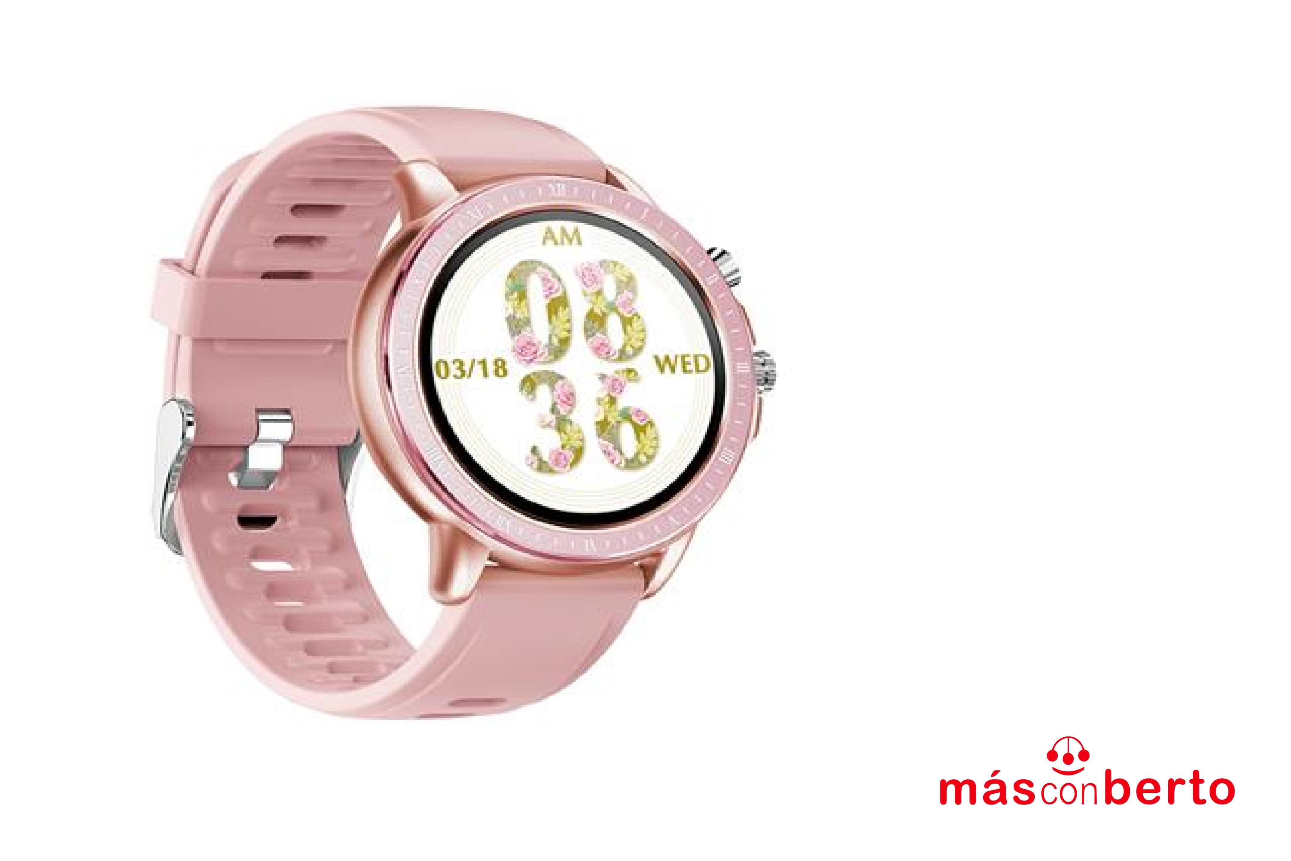Smartwatch MS02 Rosa SMS02PK
