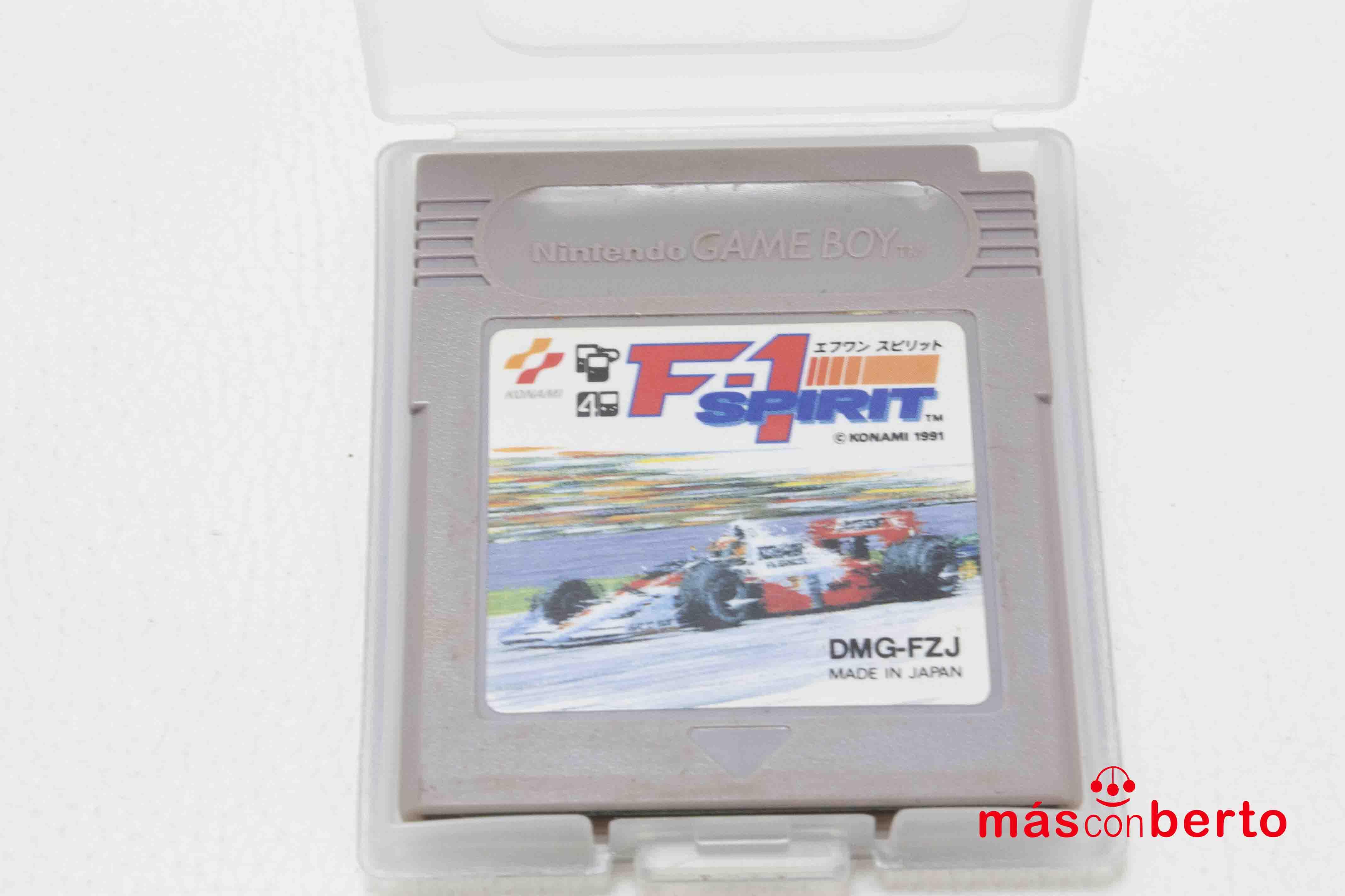 Juego Game Boy F1 SPIRIT