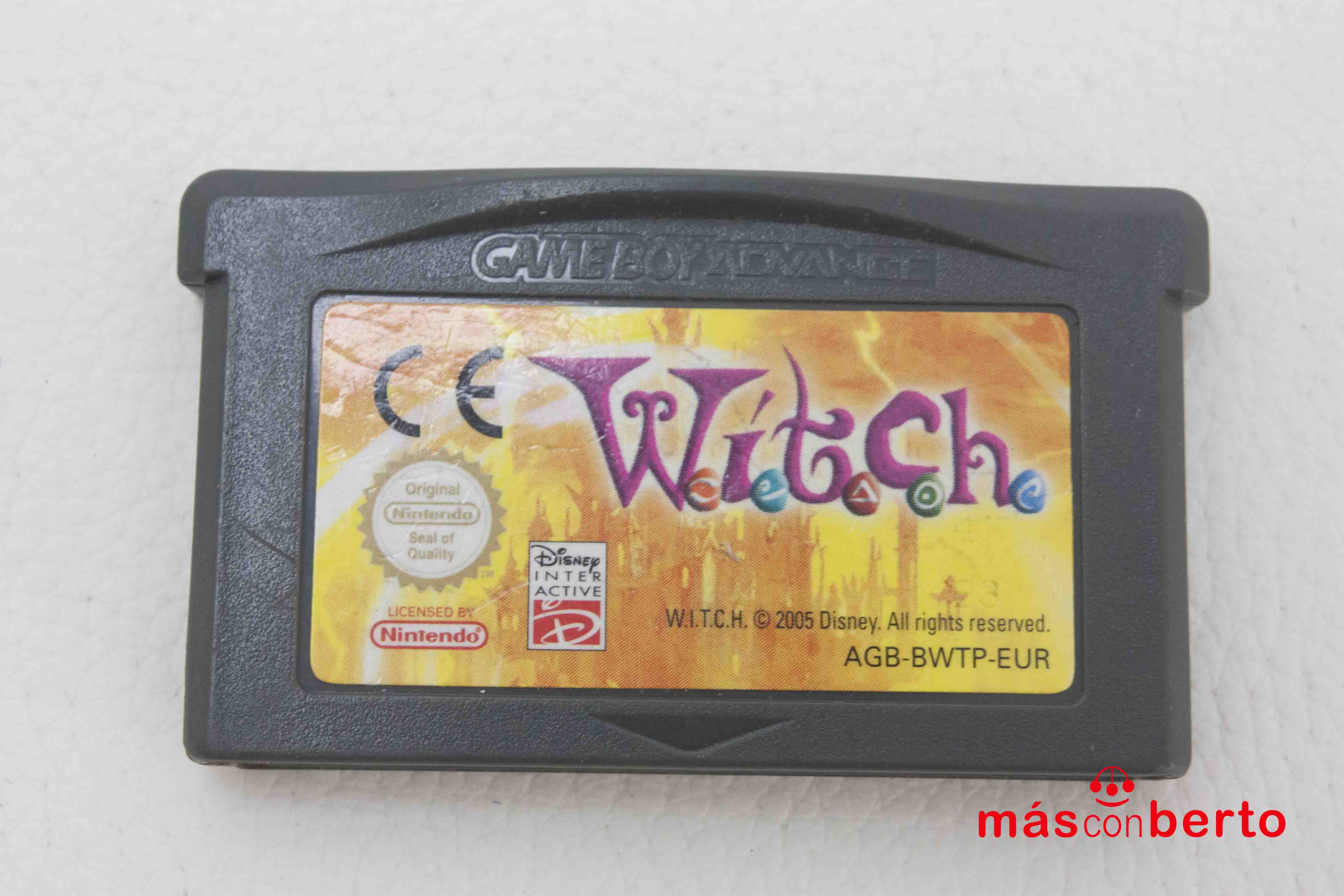 Juego Game boy advance witch