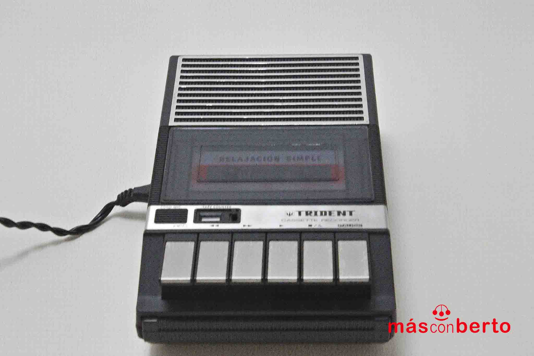 Cassette grabador Trident