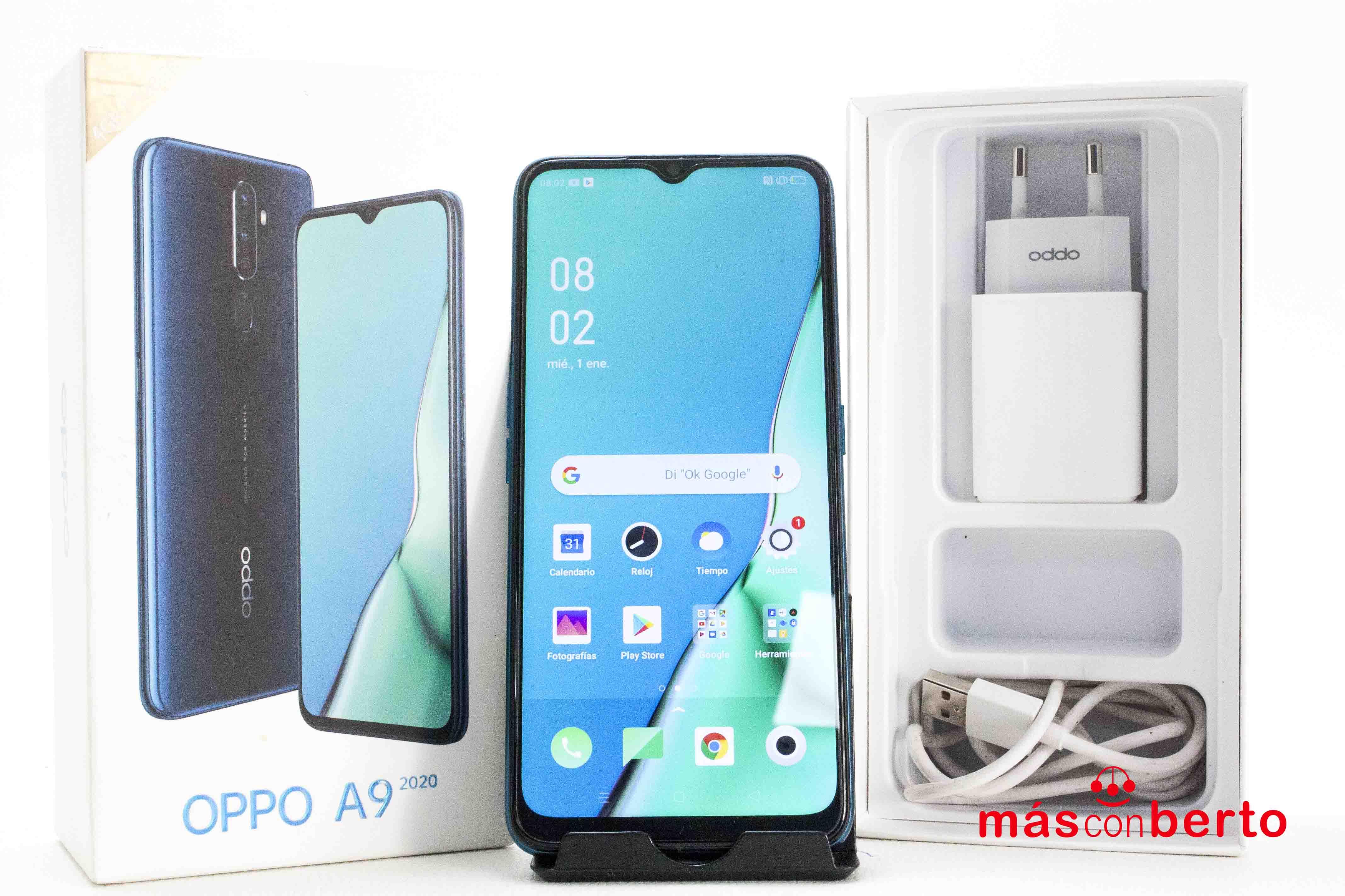 Móvil Oppo A9 2020 128Gb Azul