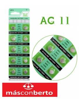 Pilas alcalinas AG11 362A...