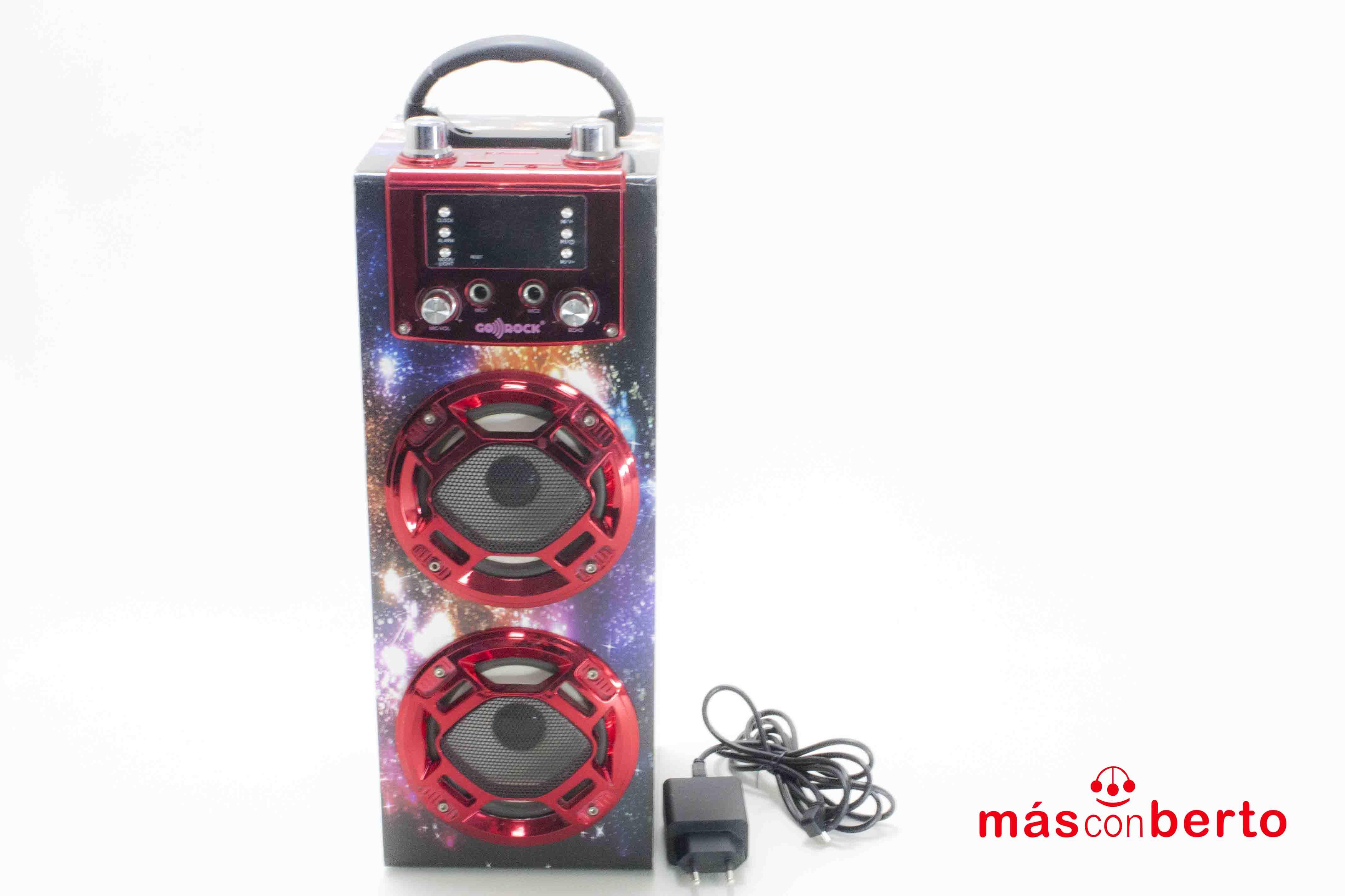 Altavoz Bluetooth Go Rock...