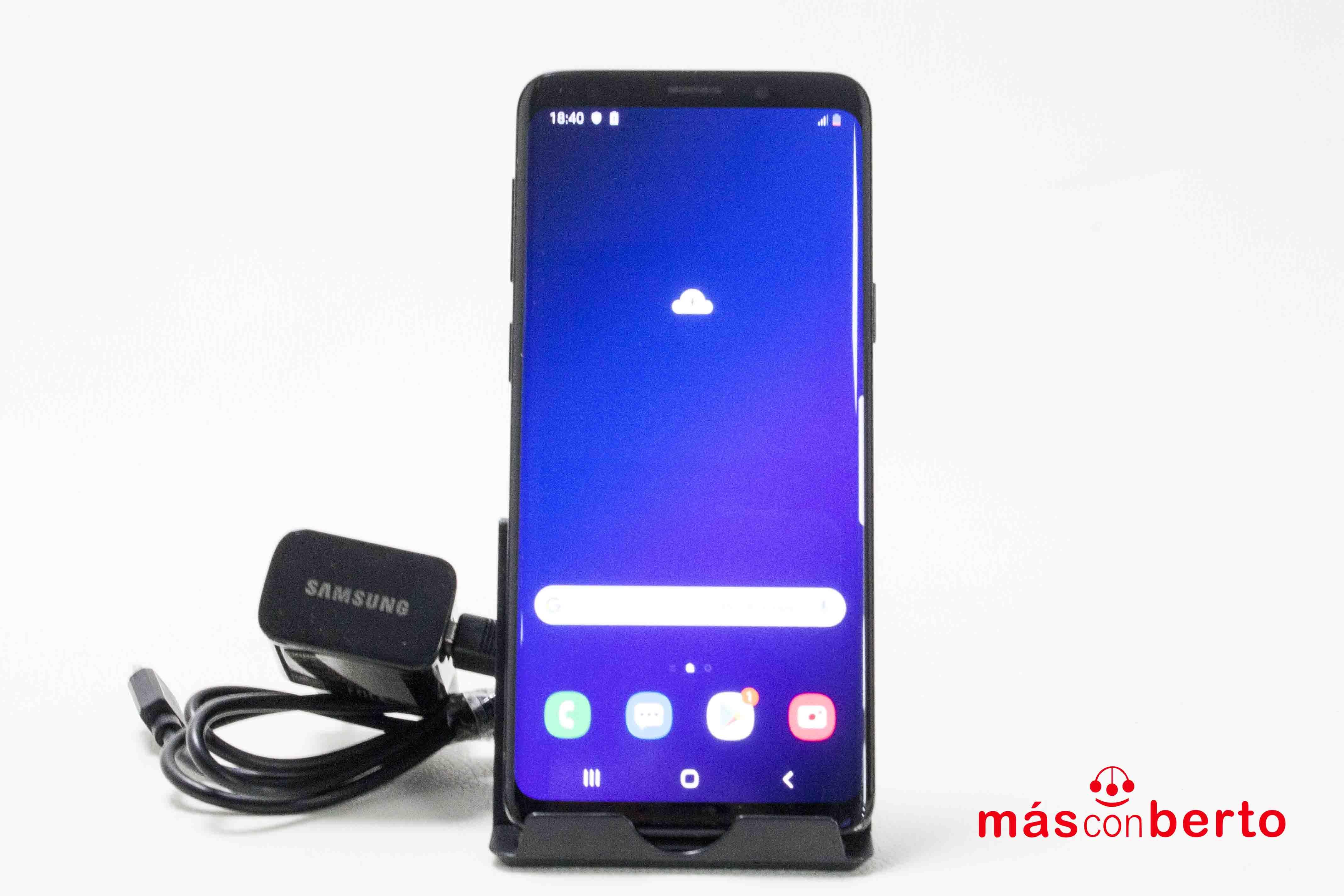 Móvil Samsung S9 64Gb Negro