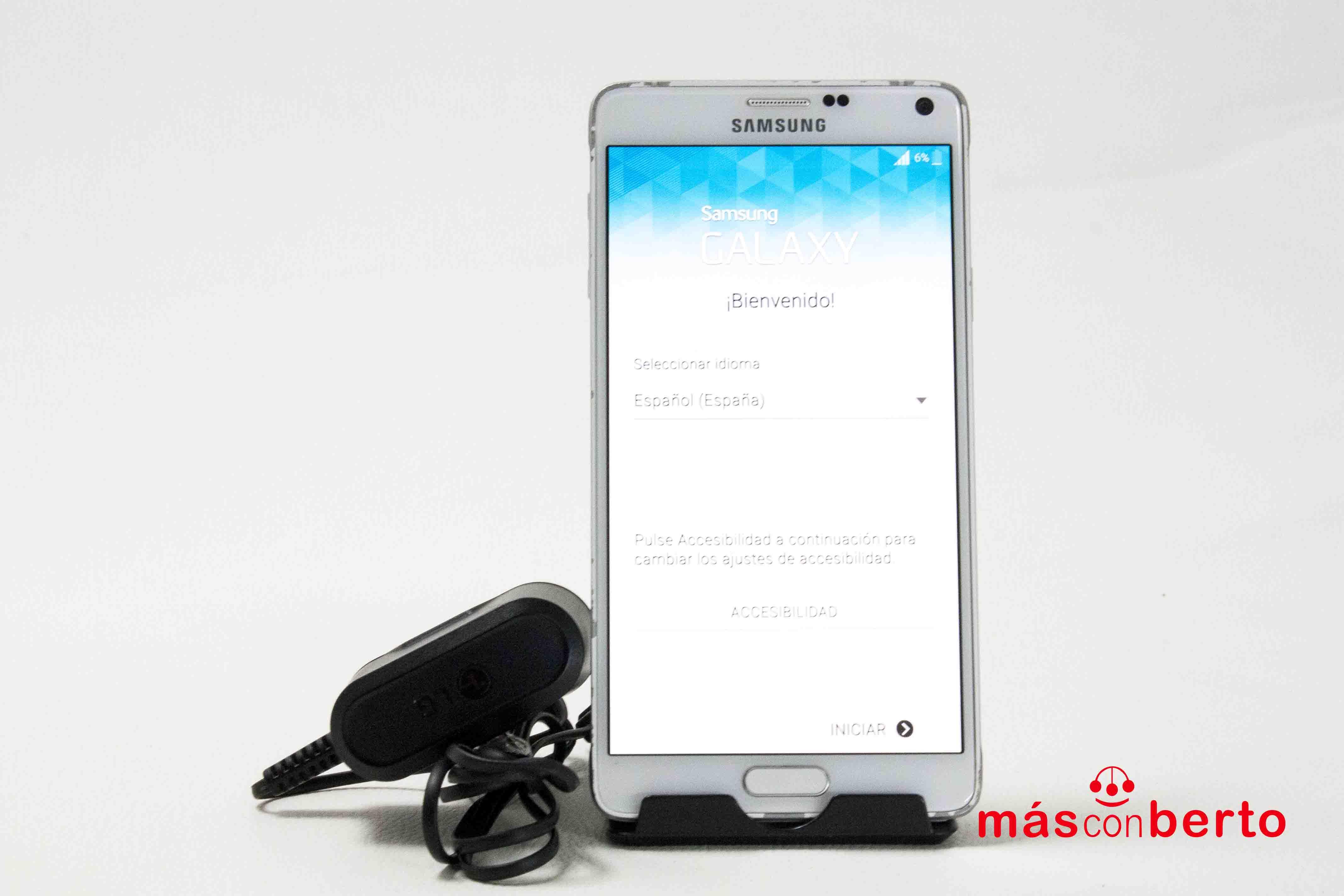 Móvil Samsung Note 4 32Gb...