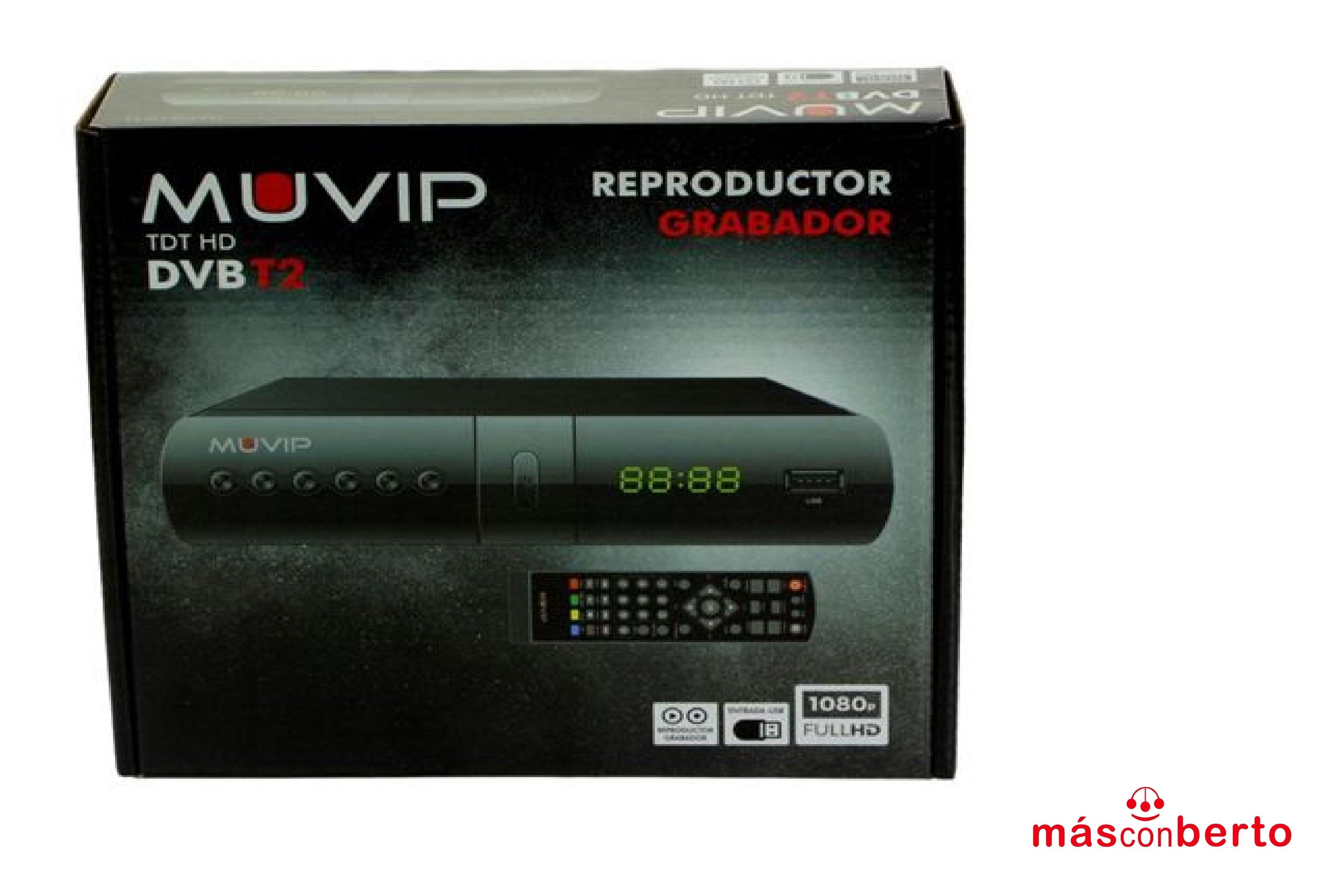 TDT HD Reproductor grabador...