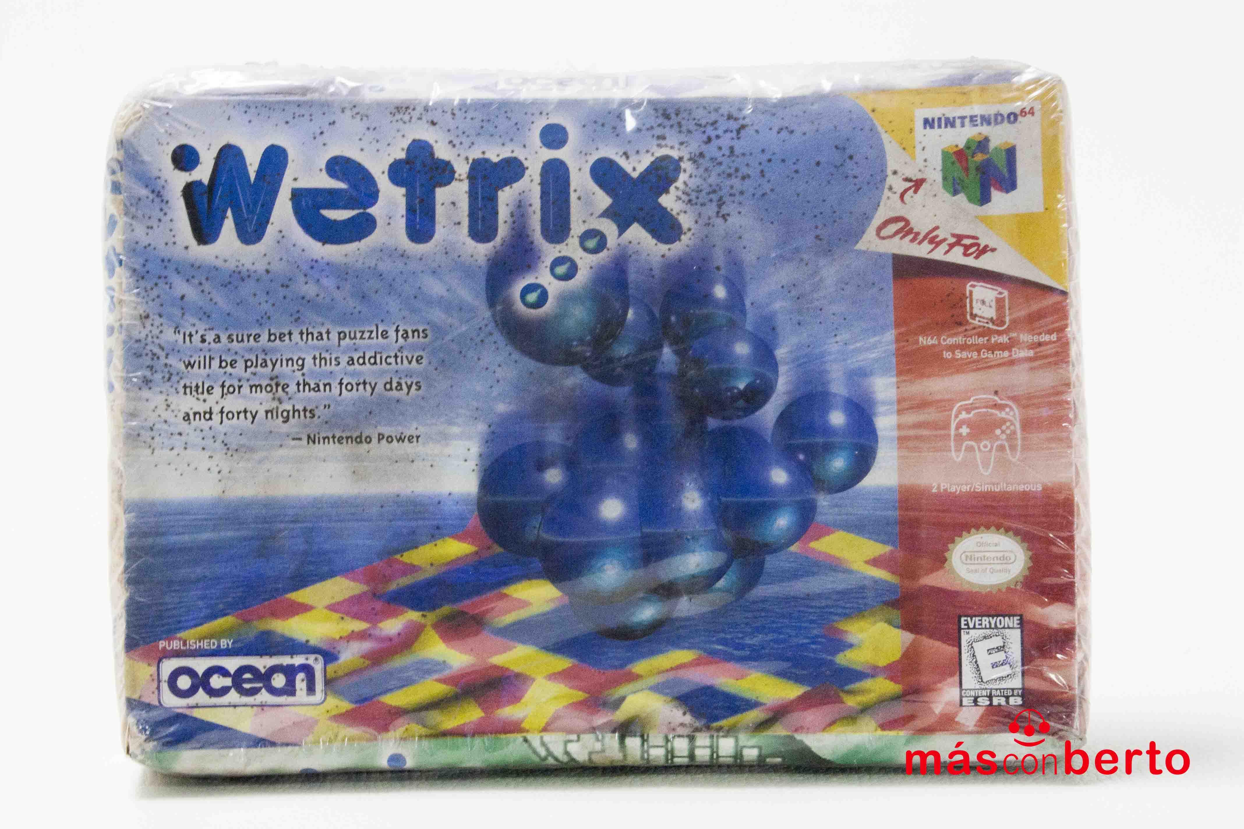 Juego Nintendo 64 Wetrix...