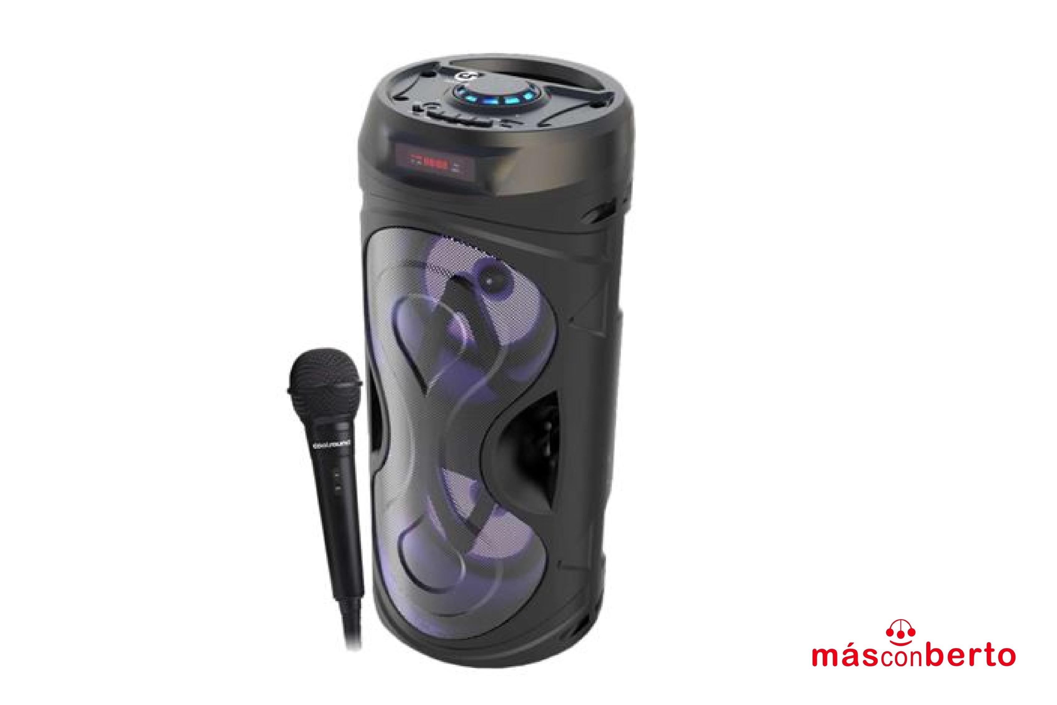 Altavoz karaoke Bluetooth...