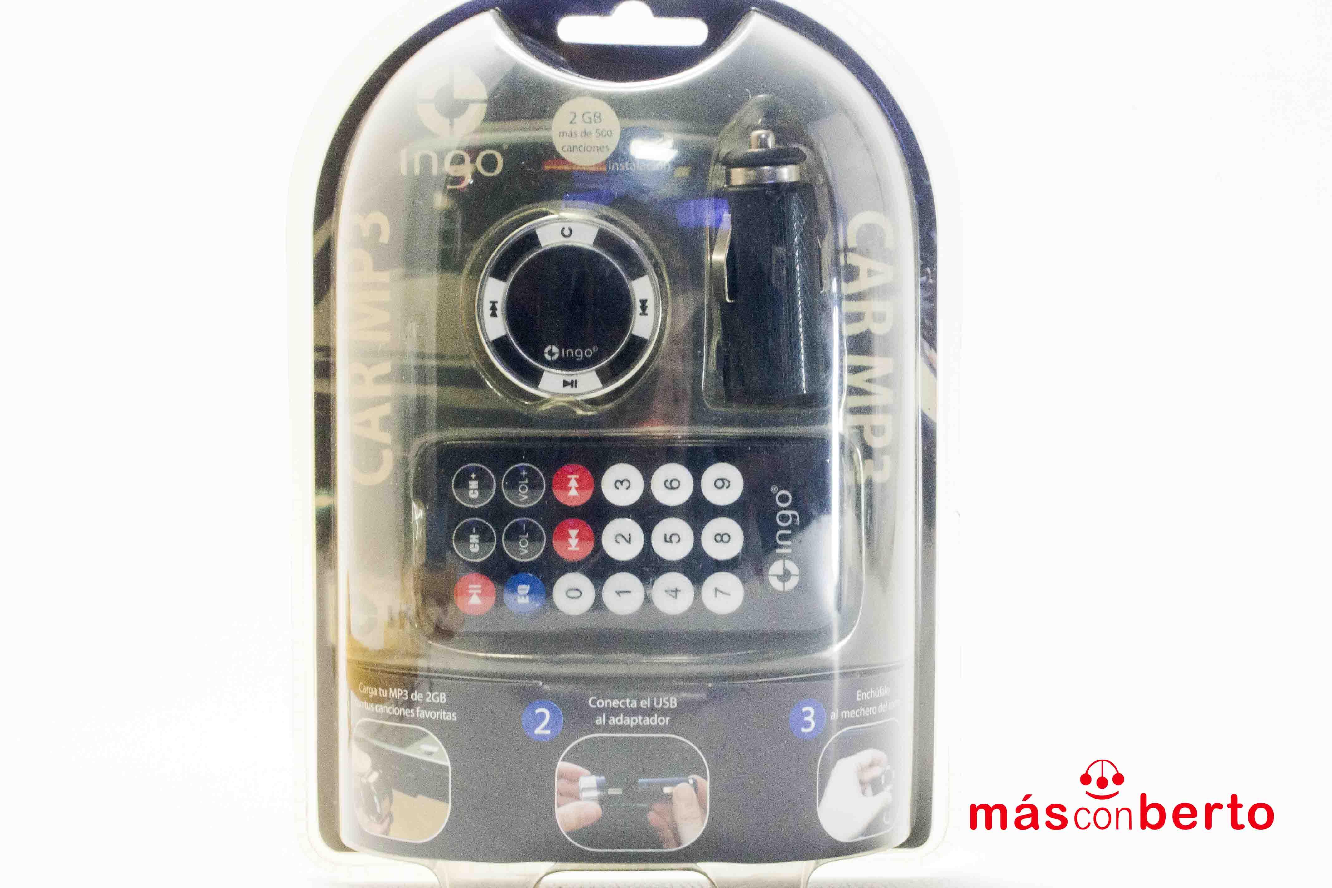 Transmisor de MP3/FM coche...
