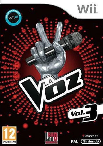 Juego Wii La voz Vol. 3...