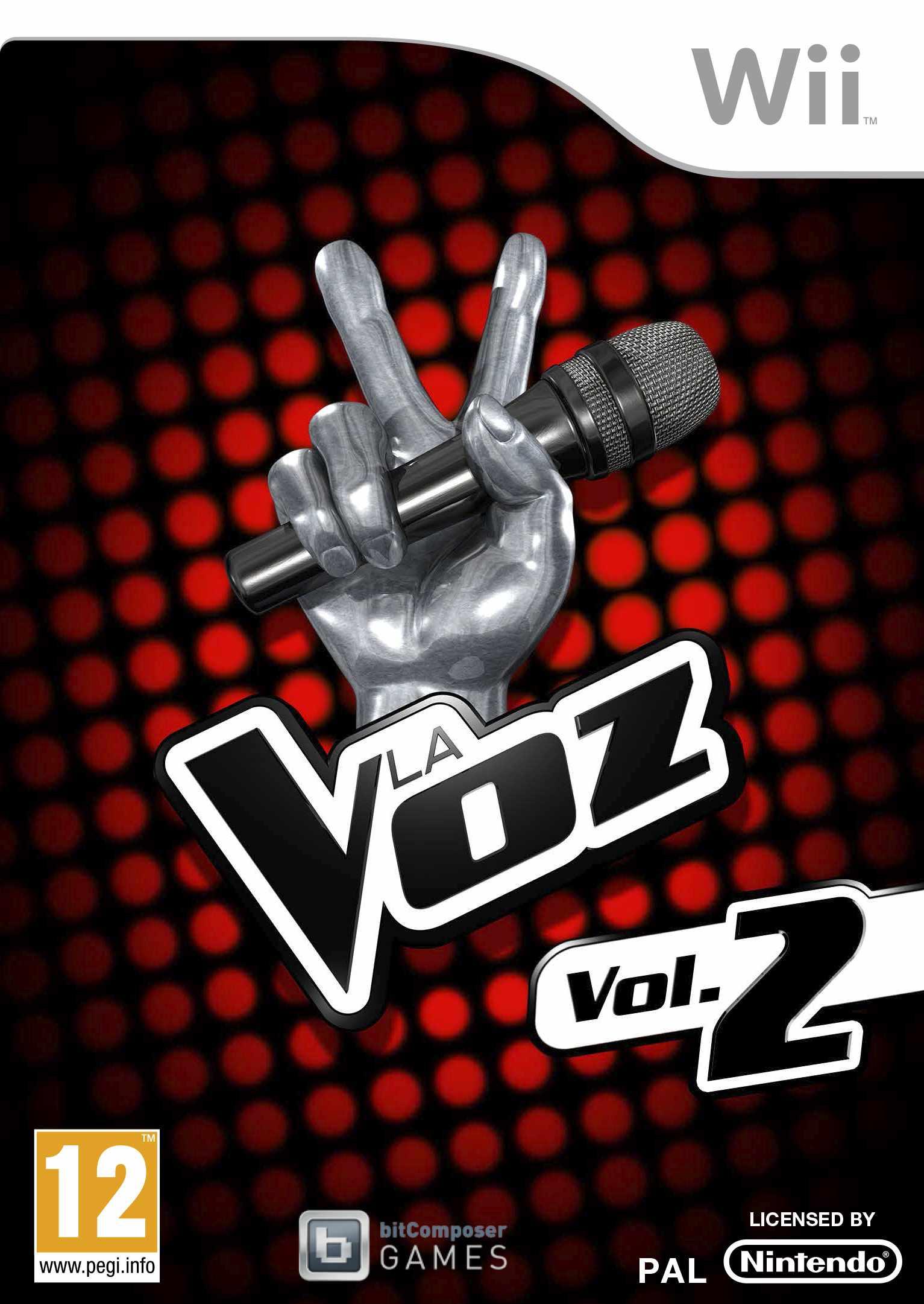 Juego Wii La voz Vol. 2...