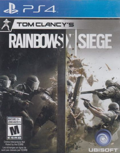 Juego PS4 Rainbowsix siege...