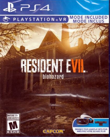 Juego PS4 Resident evil VII...