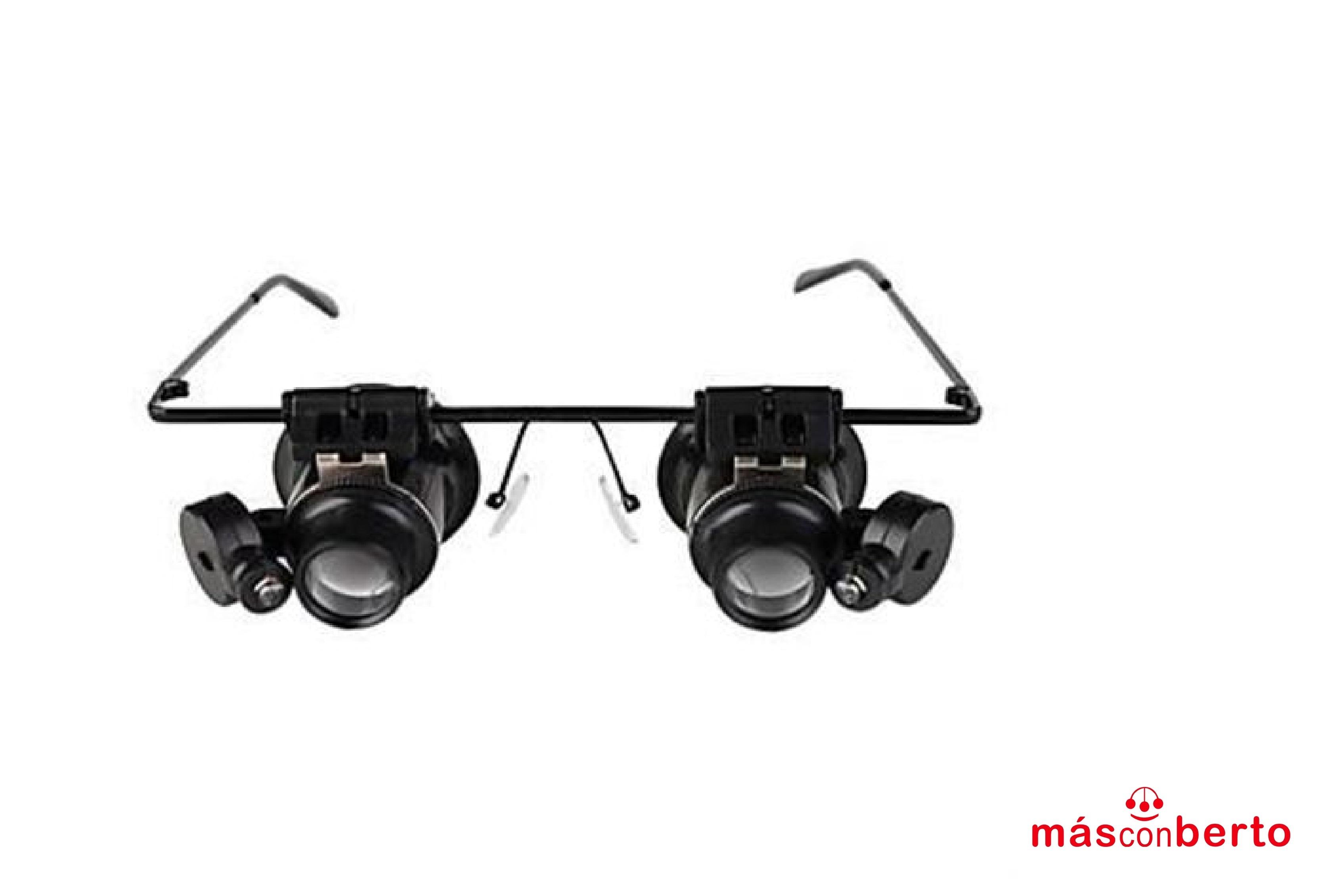 Gafas microscopio Lupa X20...