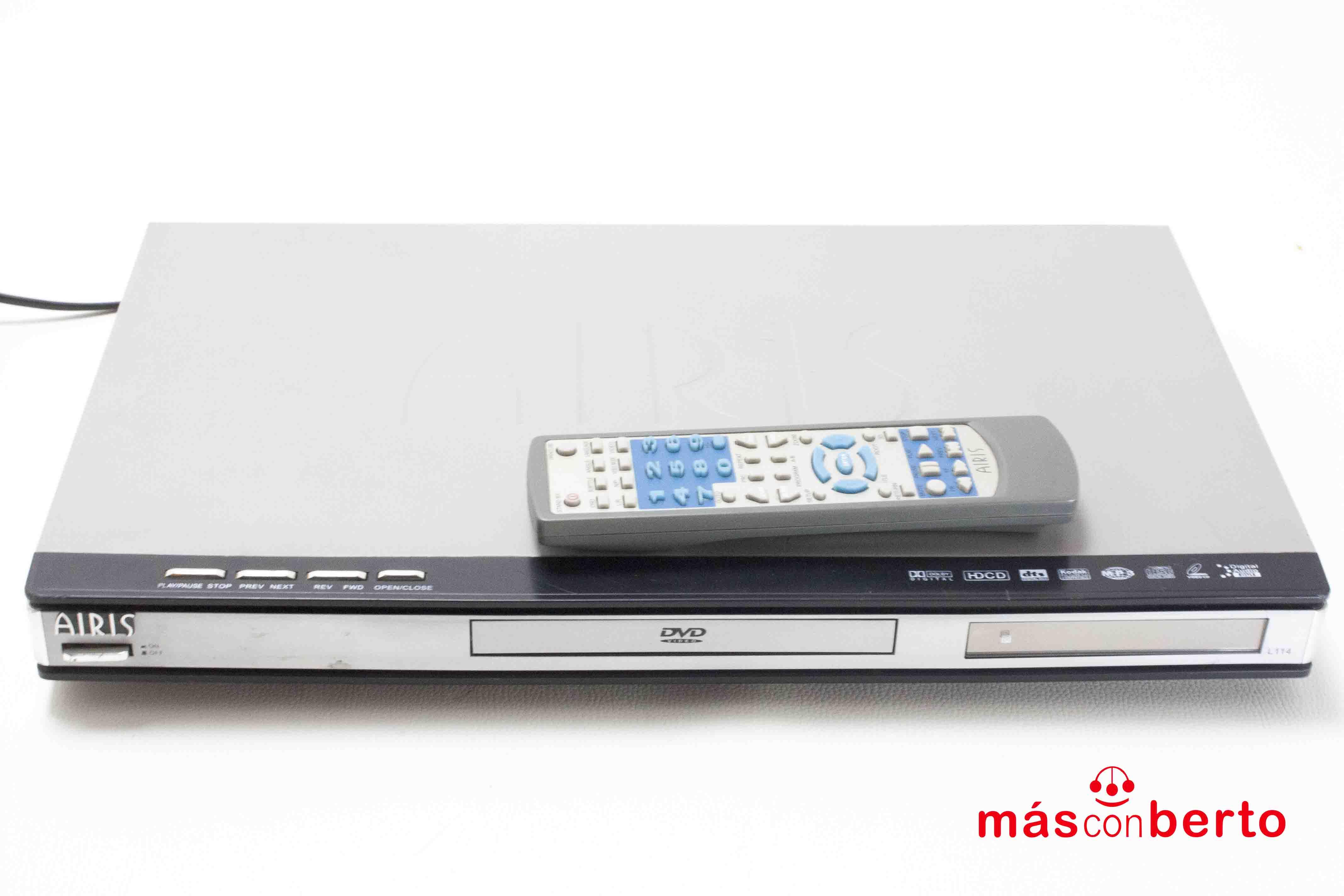 Reproductor DVD Airis L114