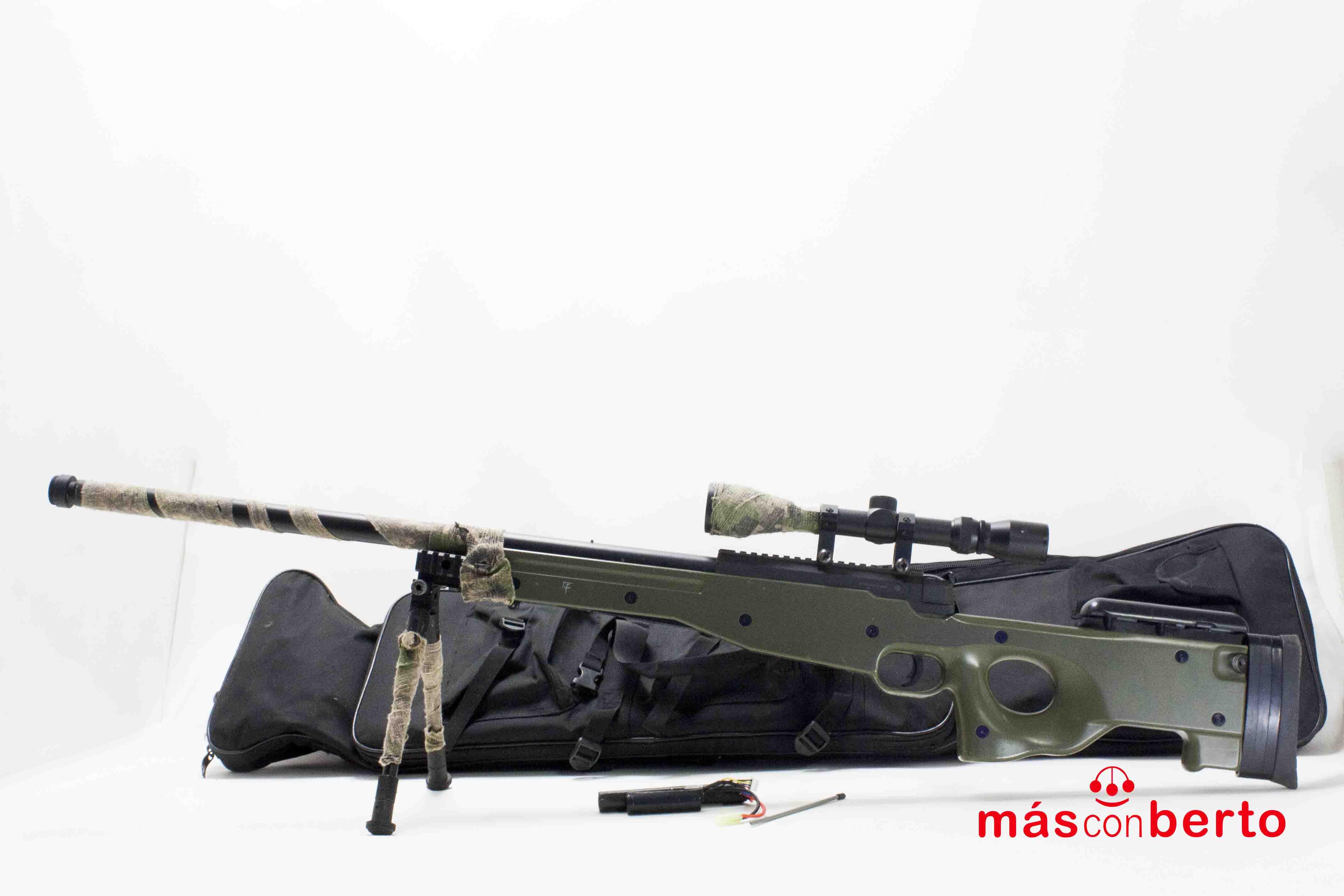 Sniper airsoft L96 Saigo verde