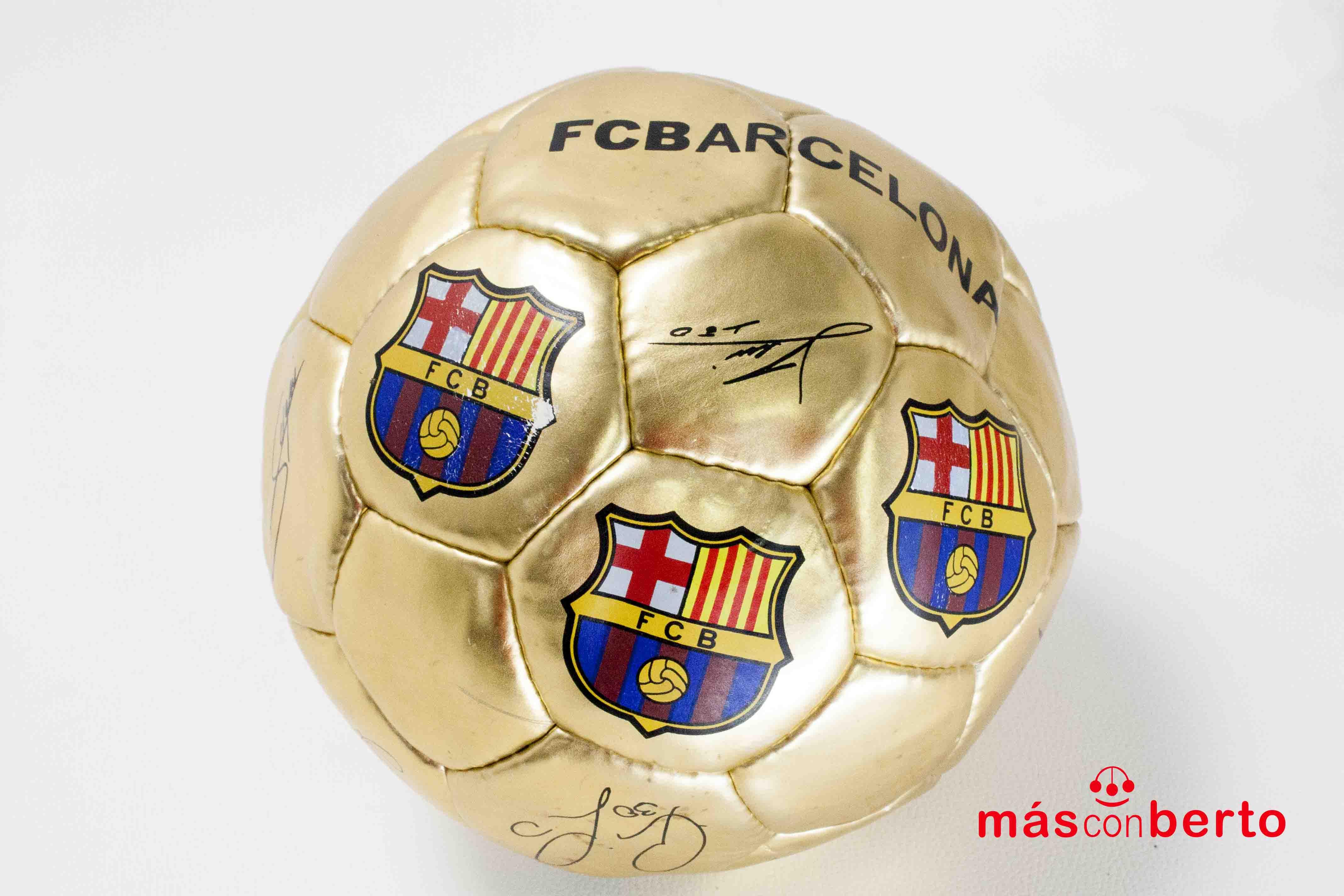 Balón de fútbol oficial FCB...