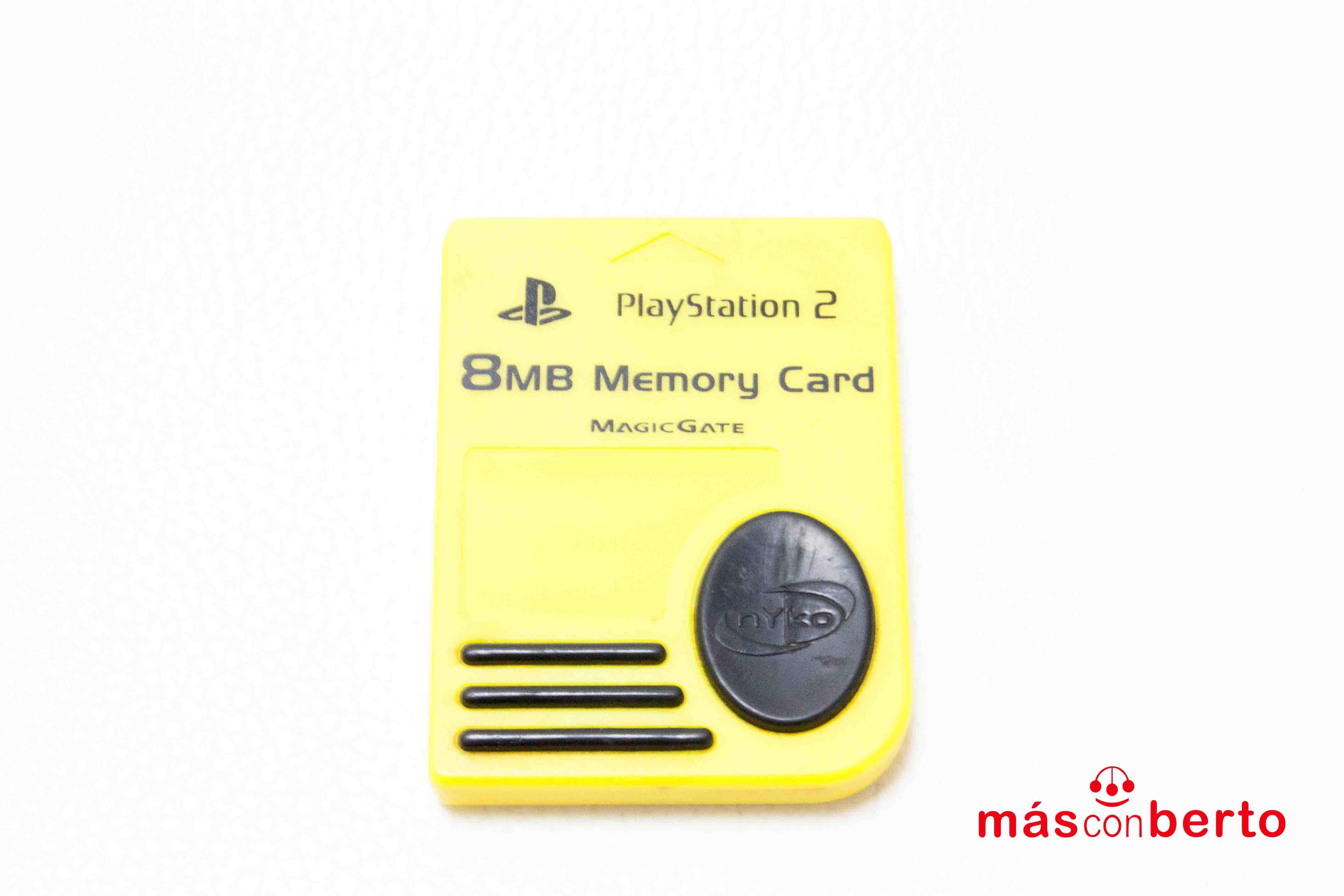 Memory card PS2 de 8MB