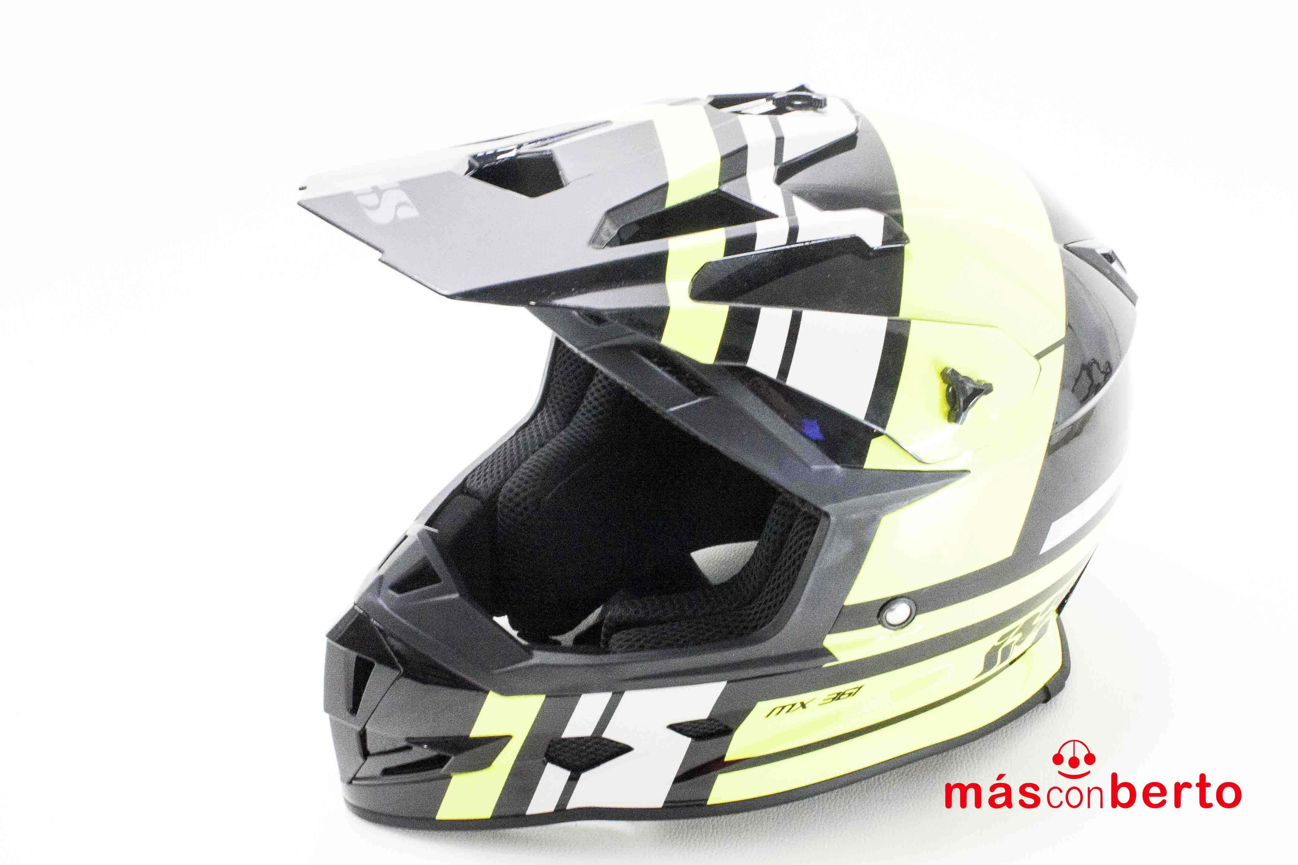 Casco de motocross IXS Mx...