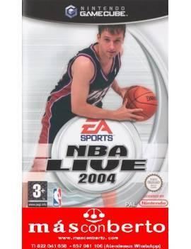 Juego GameCube NBA Live 2004