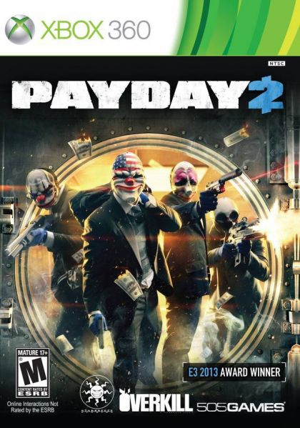 Juego XBOX360 Payday 2
