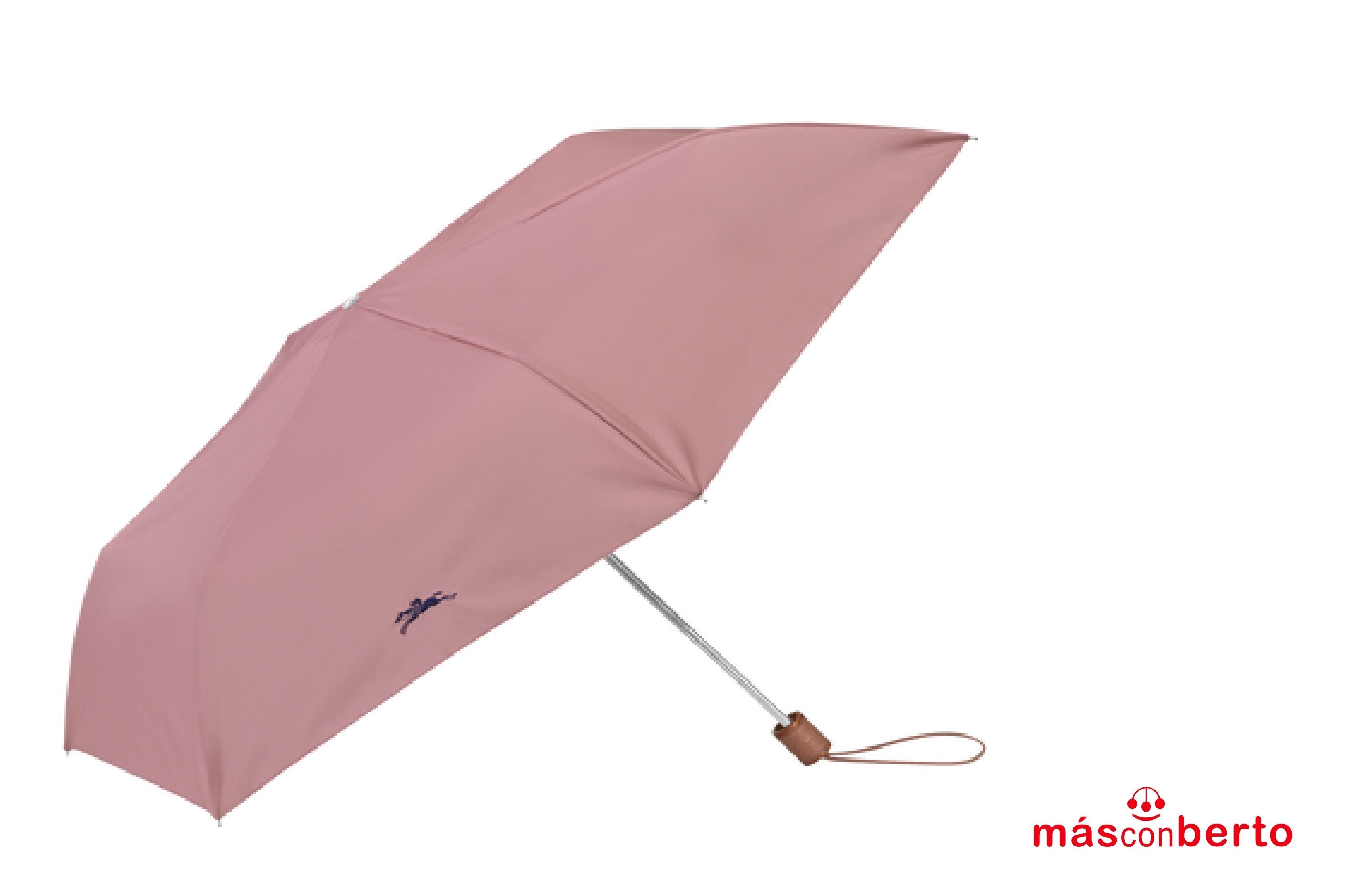 Paraguas Leopard Rosa