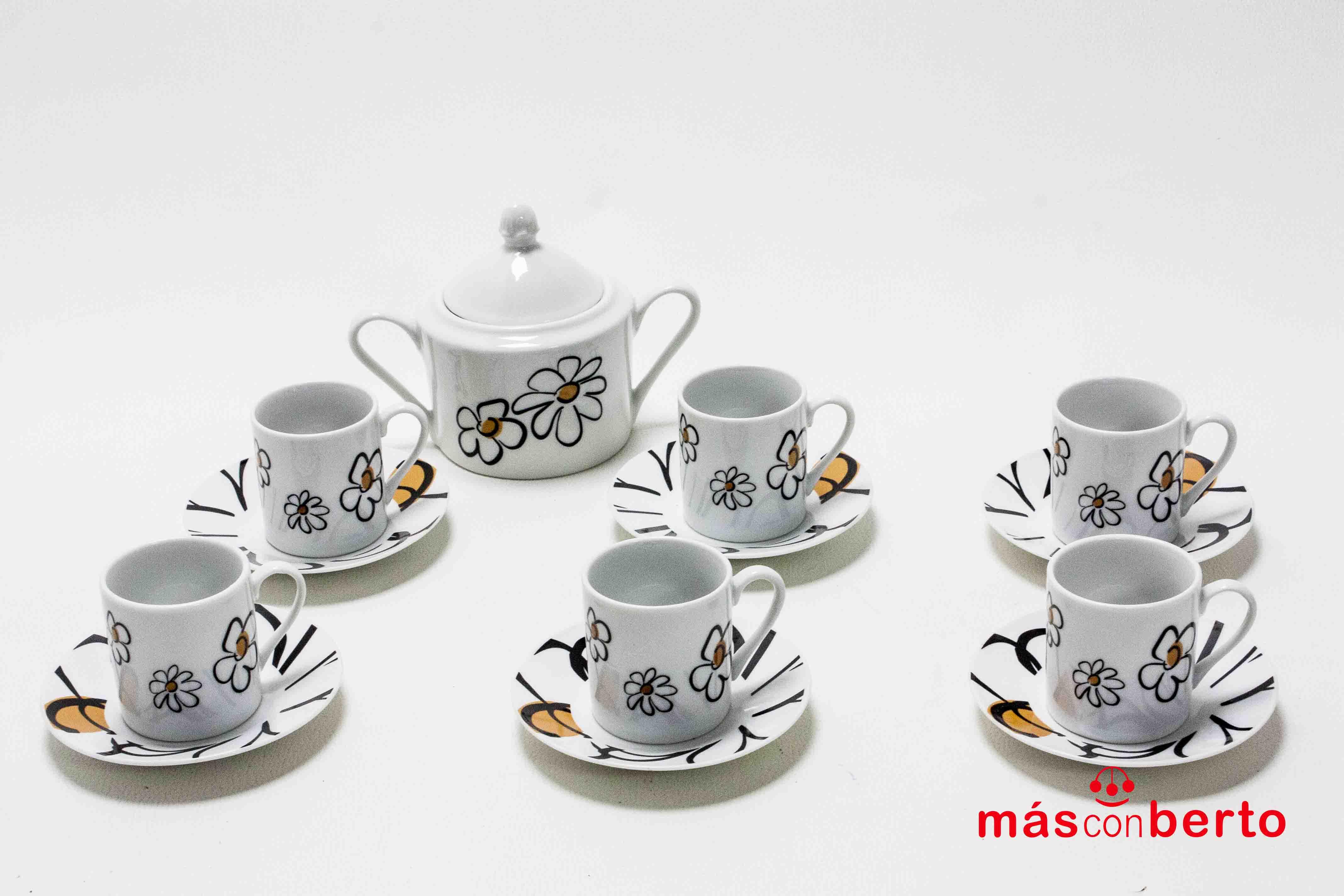 Juego de Porcelana de Café