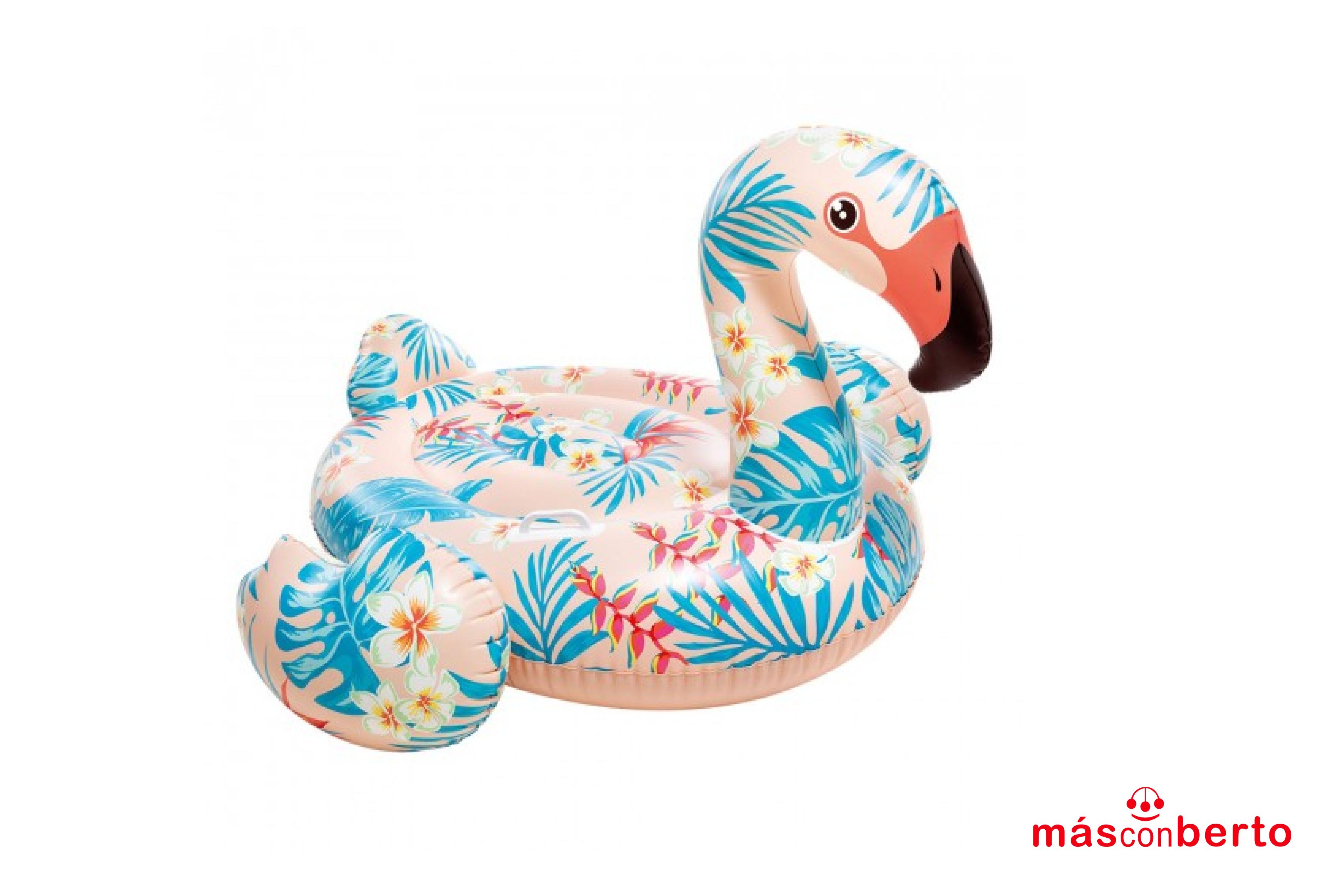 Colchoneta Flamingo Intex...