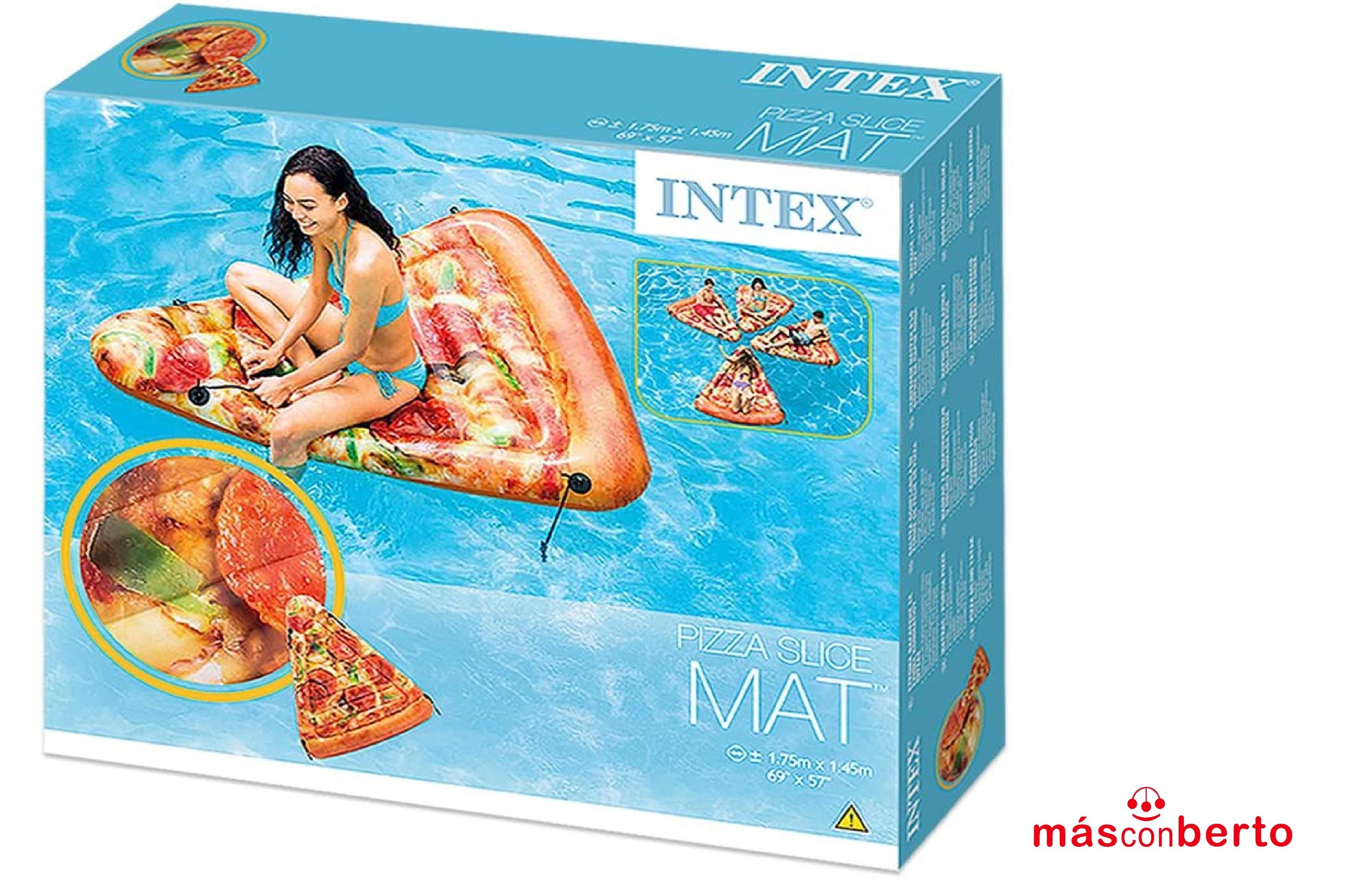 Colchoneta porción pizza Intex