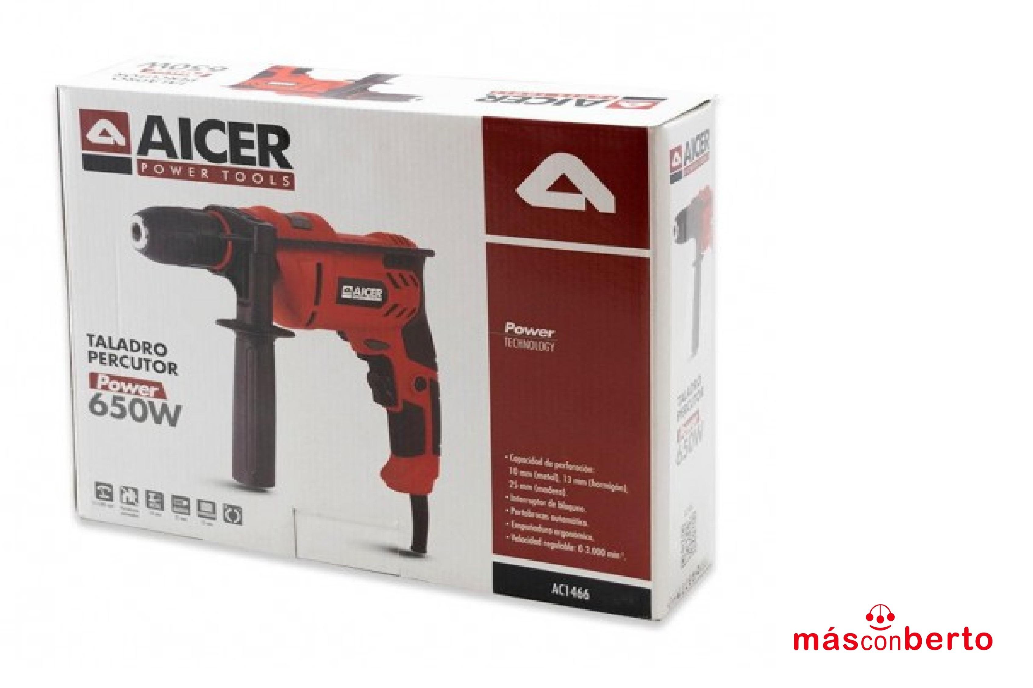 Taladro percutor 650W AC1466