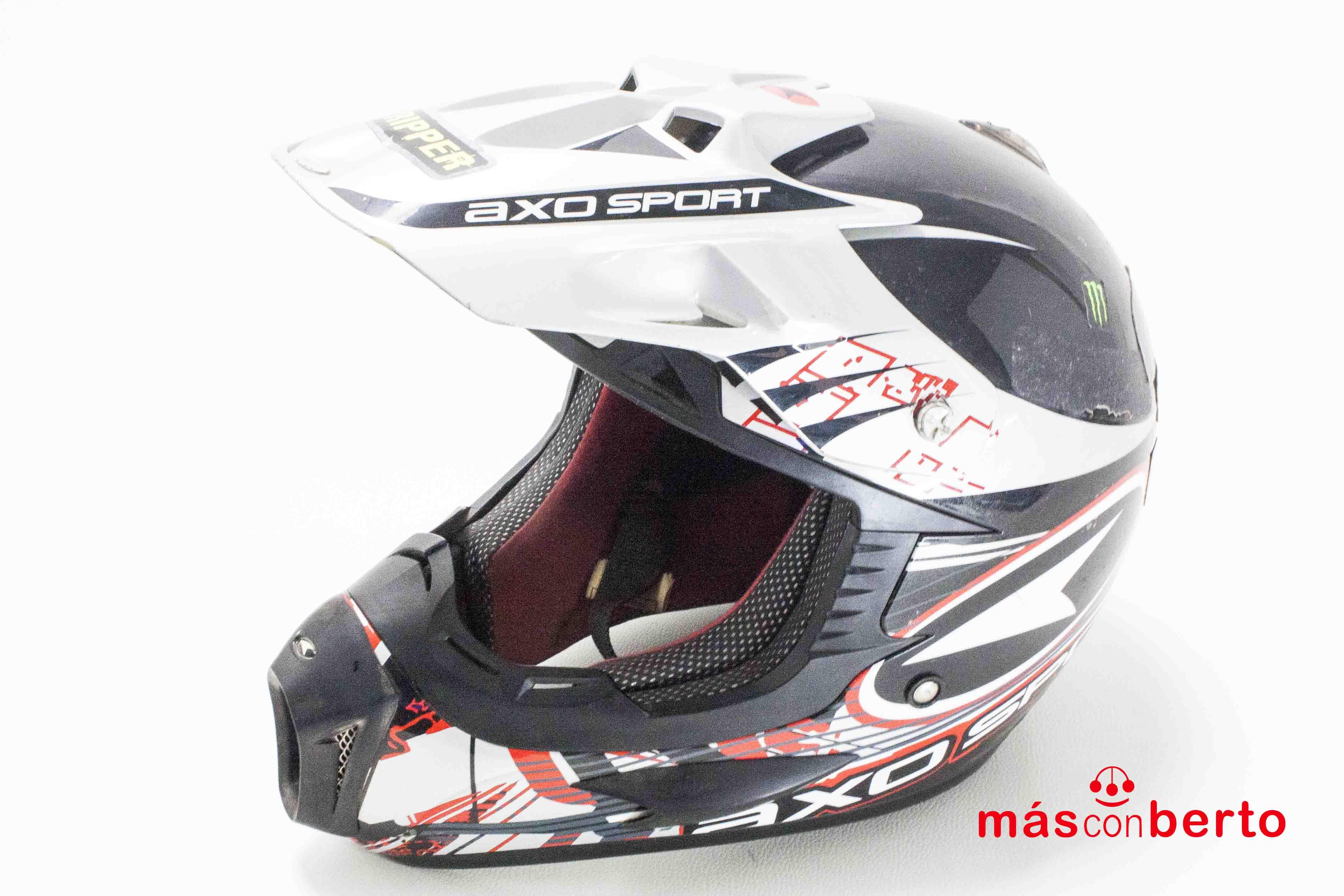 Casco Motocross Axo Sport...