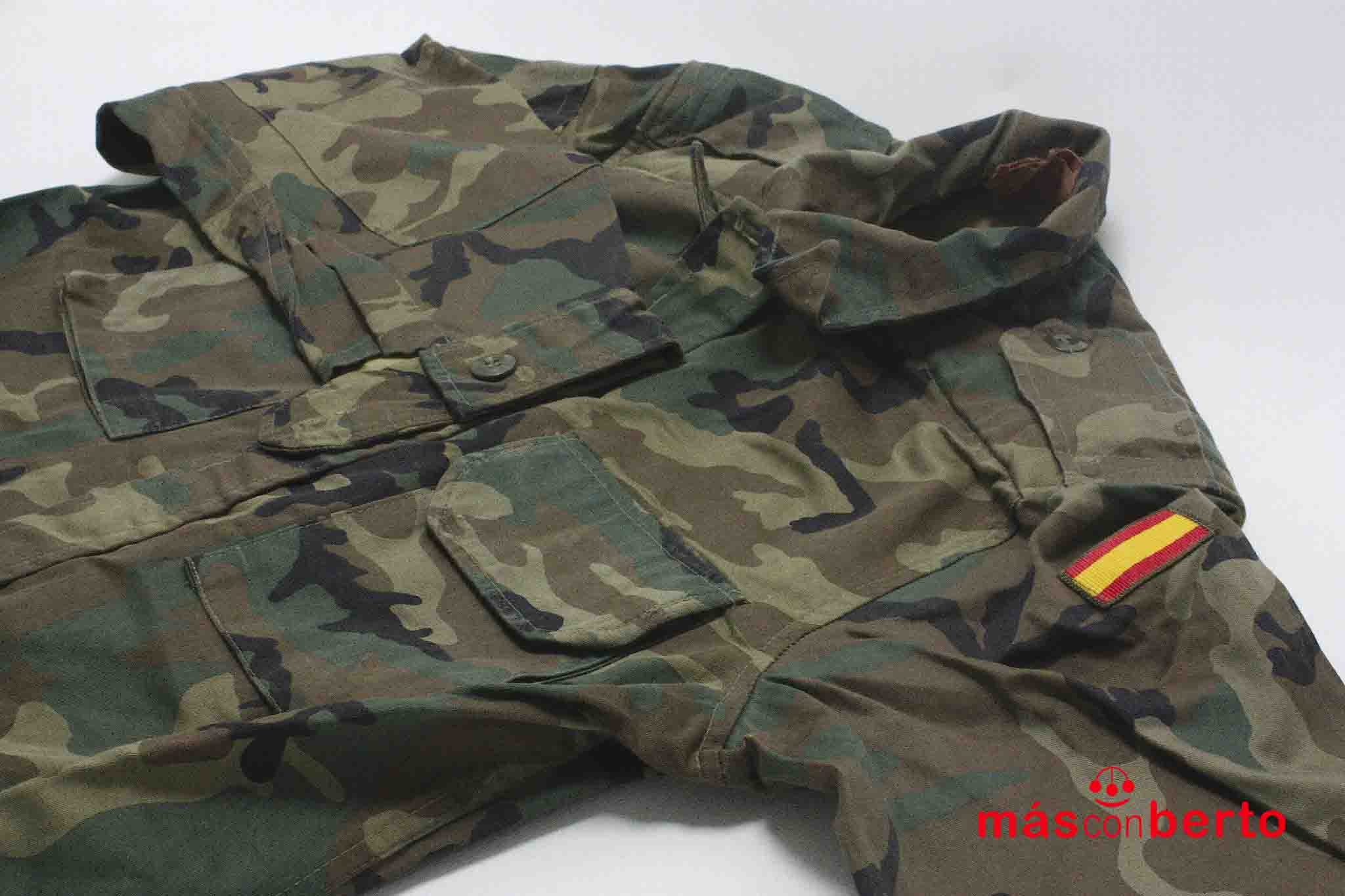 Chaqueta militar boscosa T1