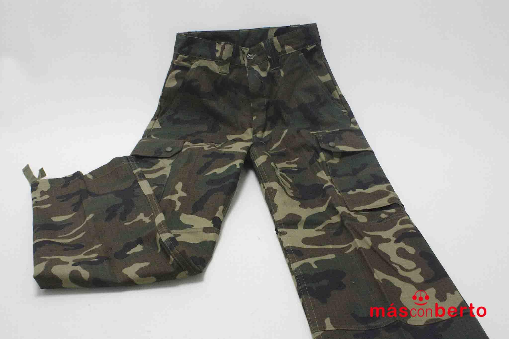 Pantalón militar boscoso T 2M