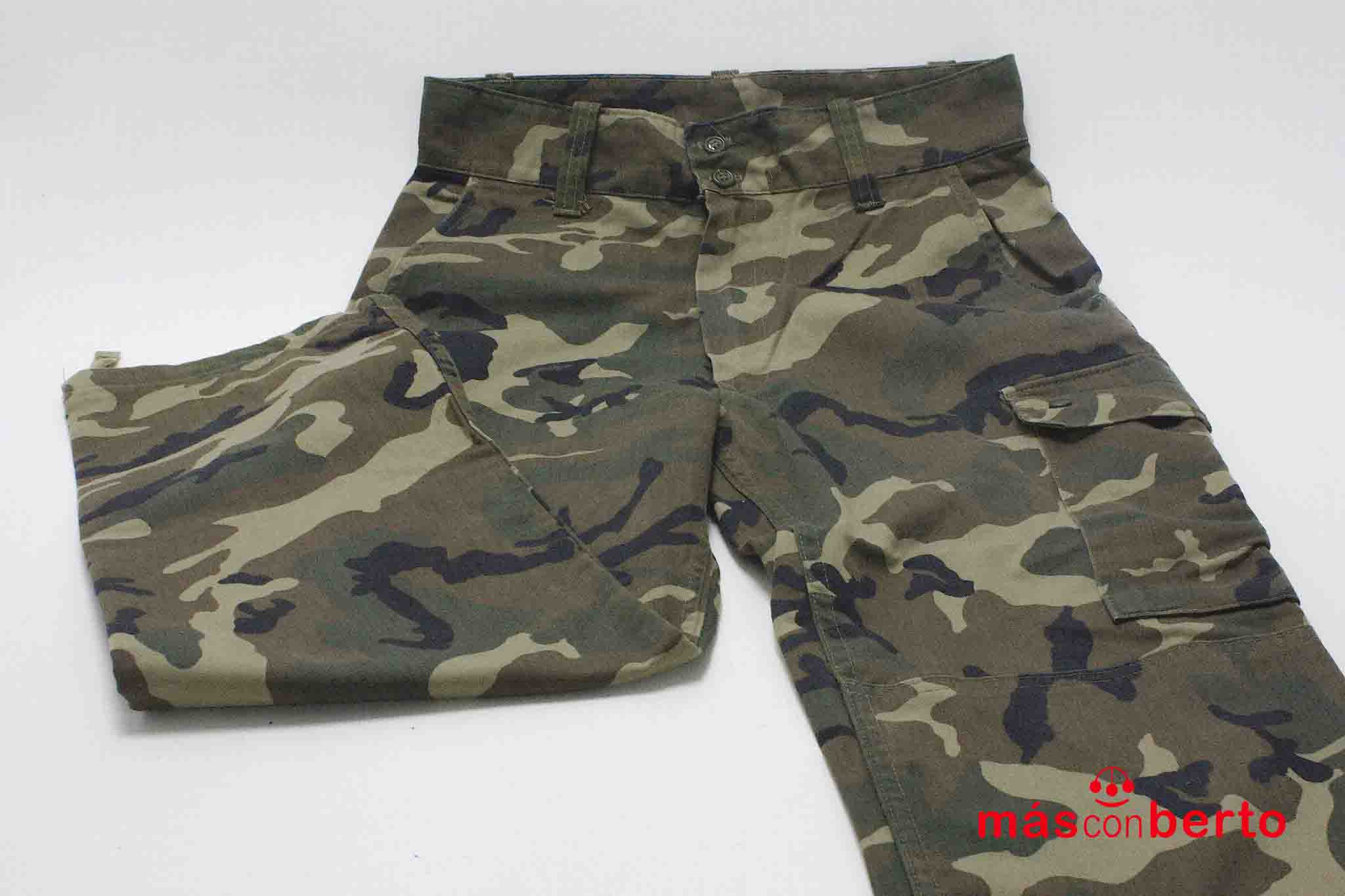 Pantalón militar boscoso T1N